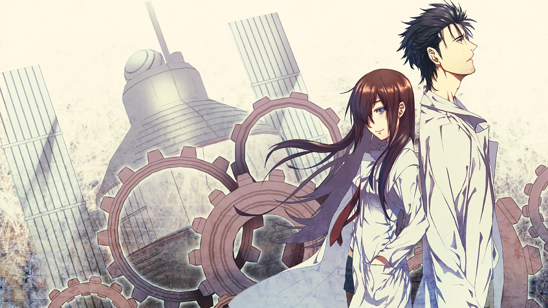 Steins Gate Full HD Wallpaper https://wallpapers-and-backgrounds.net