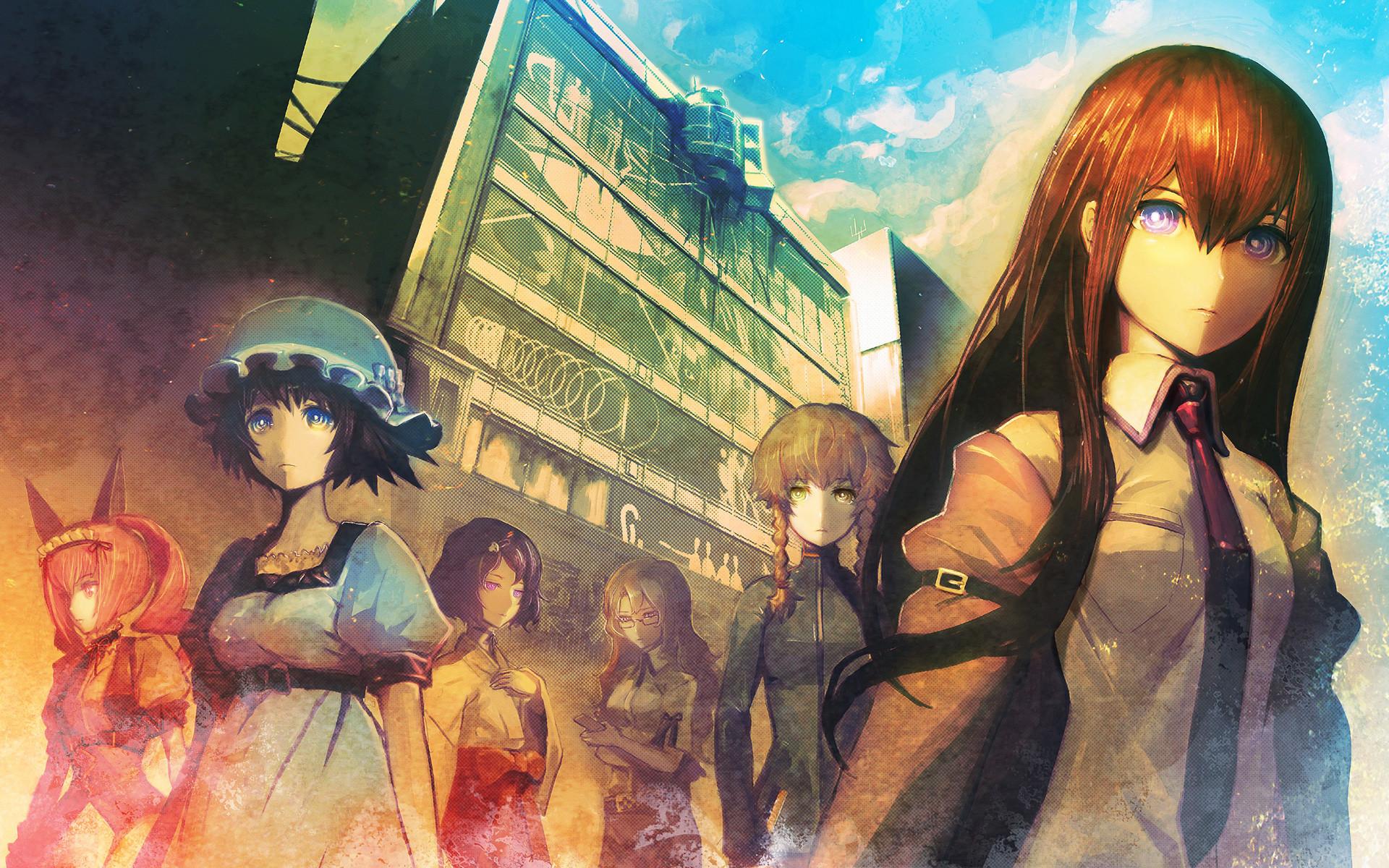 Steins;Gate, Huke (artist), Makise Kurisu, Amane Suzuha, Faris Nyannyan,  Kiryuu Moeka, Shiina Mayuri, Urushibara Ruka, Anime Wallpapers HD / Desktop  and …