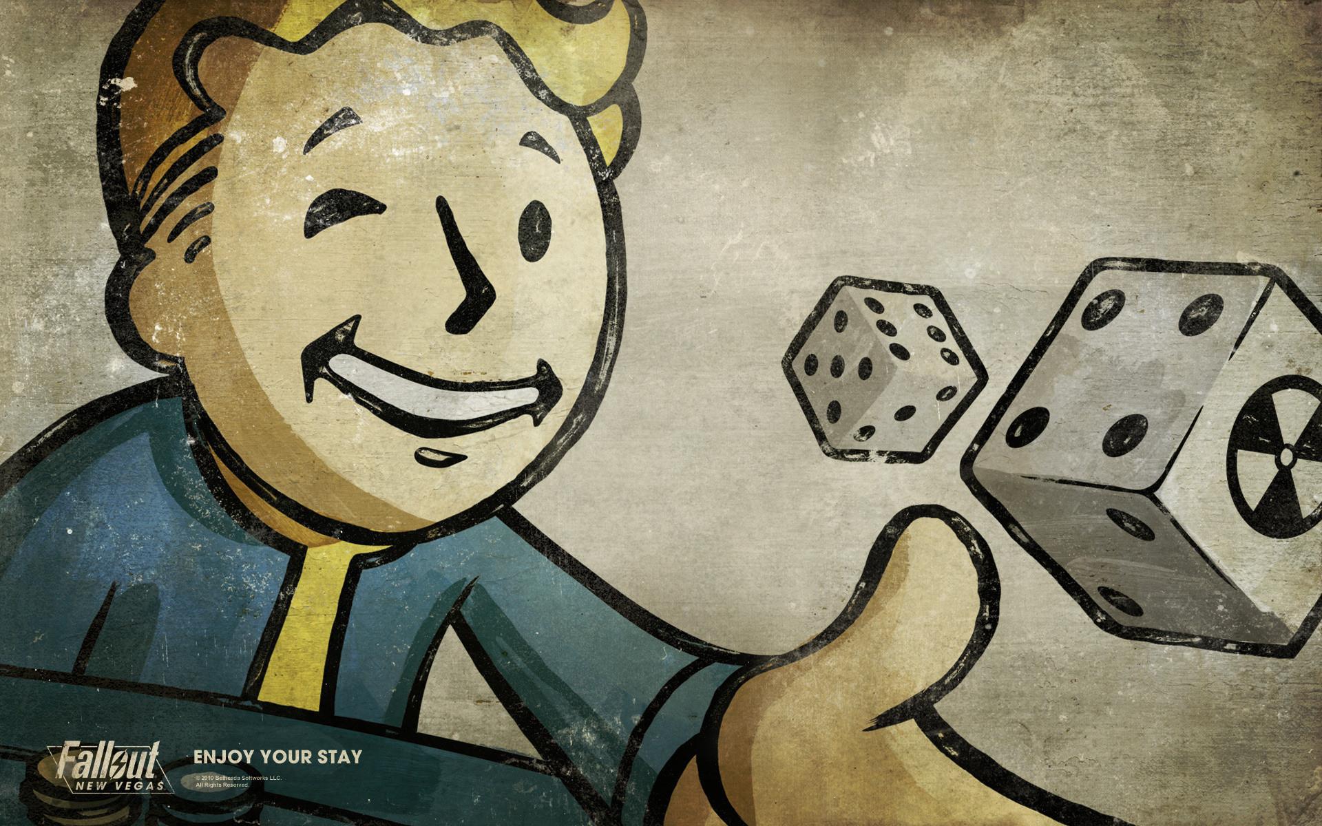 Fallout 3 Wallpaper Vault Boy wallpaper – 578477
