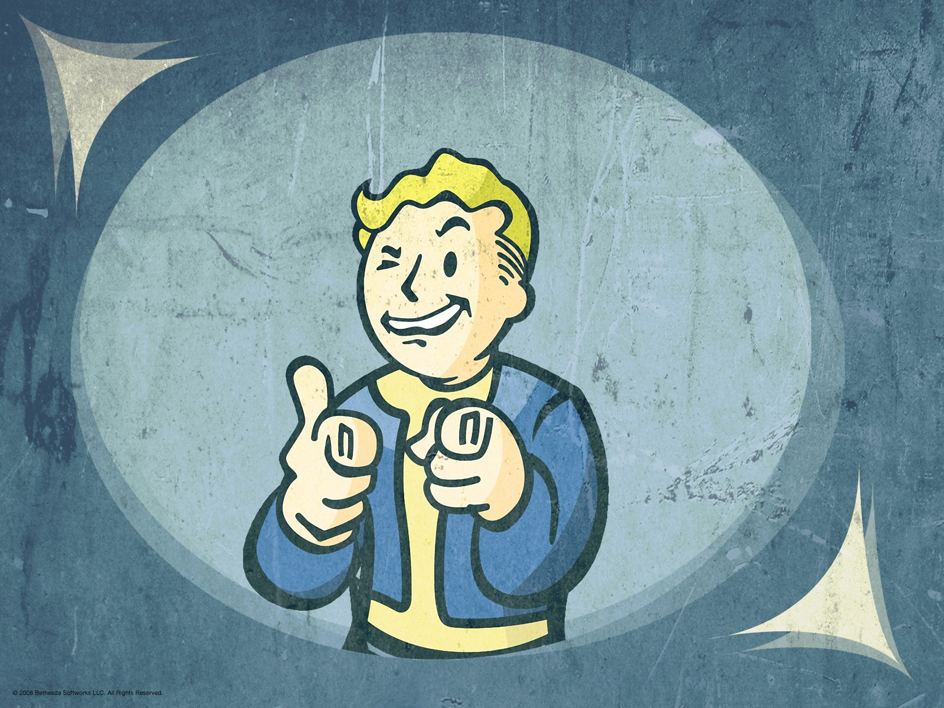6 HD Fallout Vault Boy Wallpapers