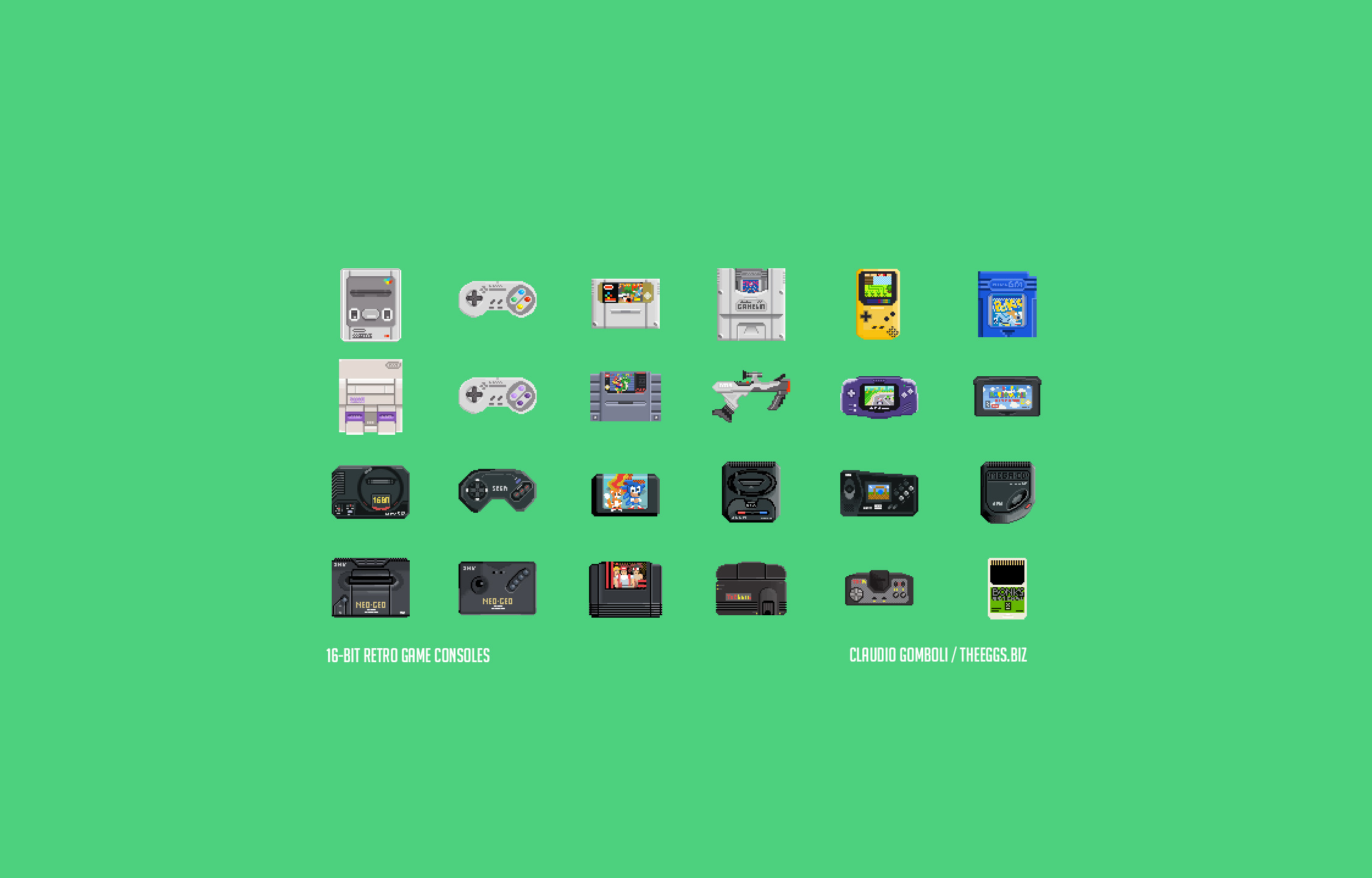 download 16 bit retro game console wallpapers for these devices