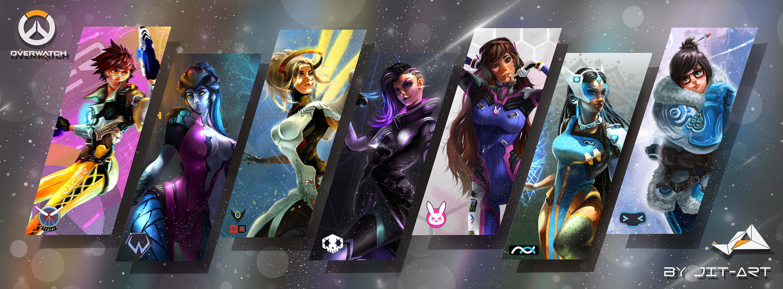 Video Game – Overwatch Tracer (Overwatch) Widowmaker (Overwatch) Mercy ( Overwatch)
