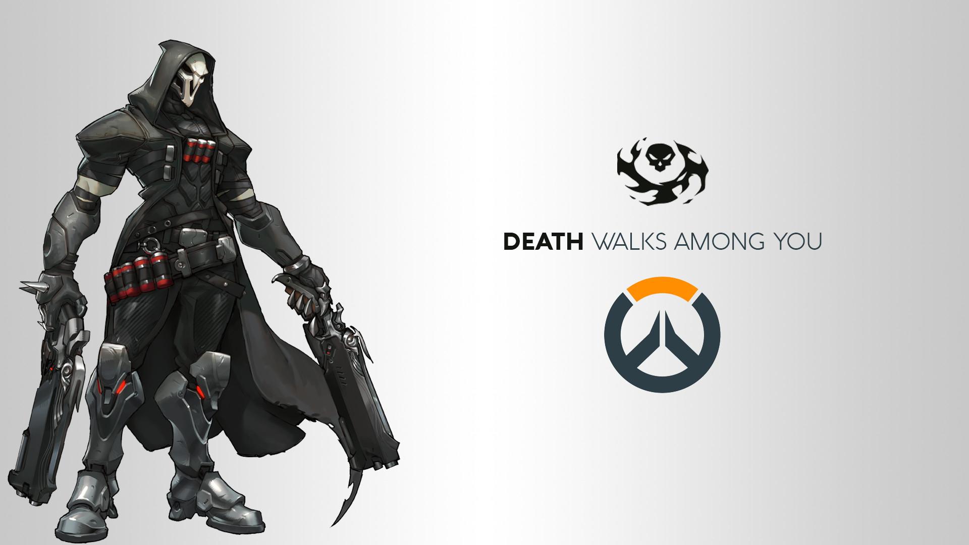 Video Game – Overwatch Reaper (Overwatch) Wallpaper
