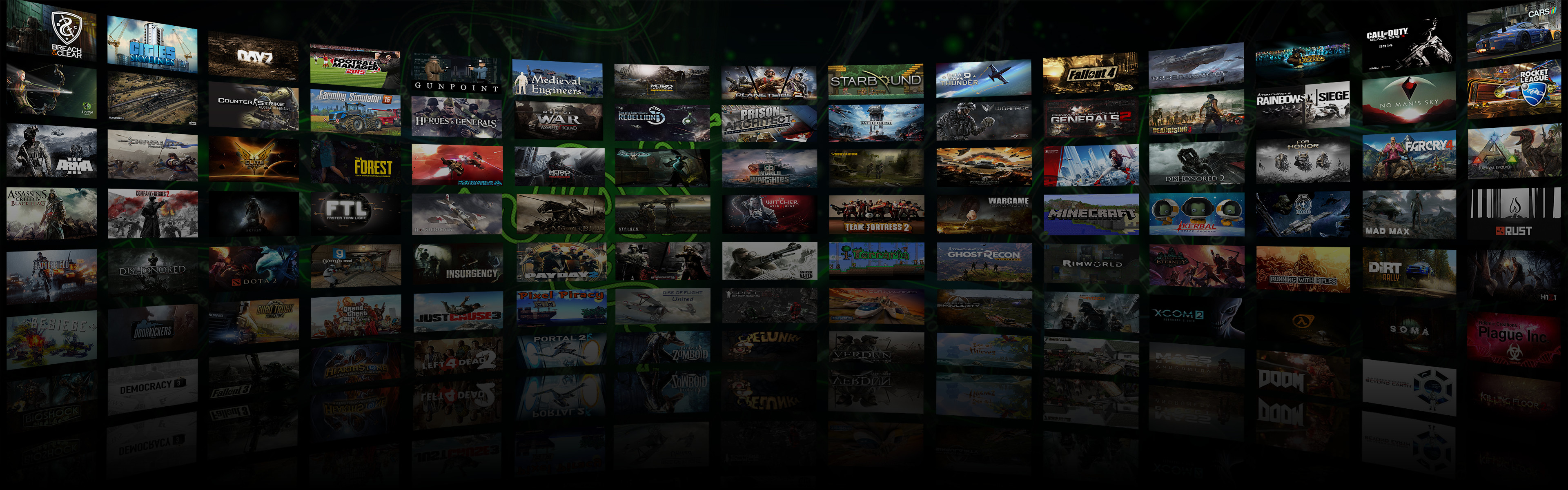 … Dual Monitor Game Montage Wallpaper 3 by DarkXess