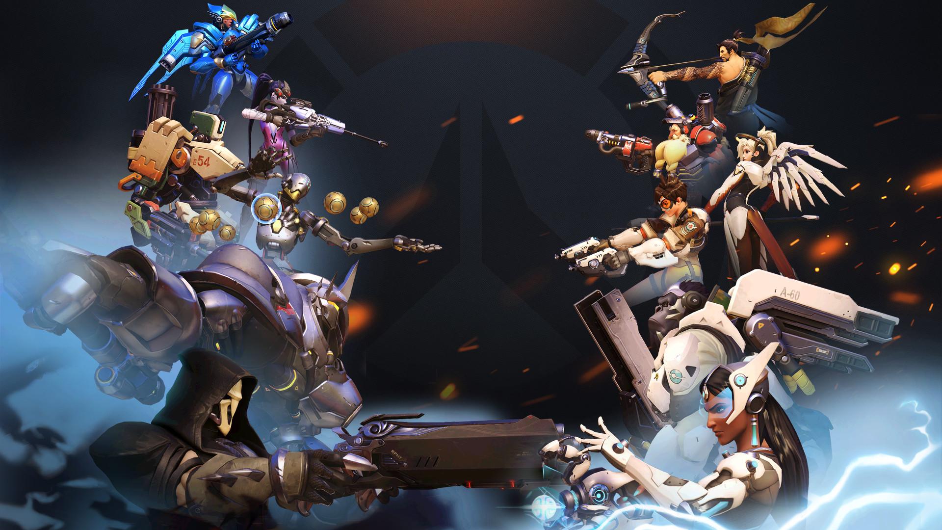 Video Game РOverwatch Hanzo (Overwatch) Torbj̦rn (Overwatch) Mercy ( Overwatch)