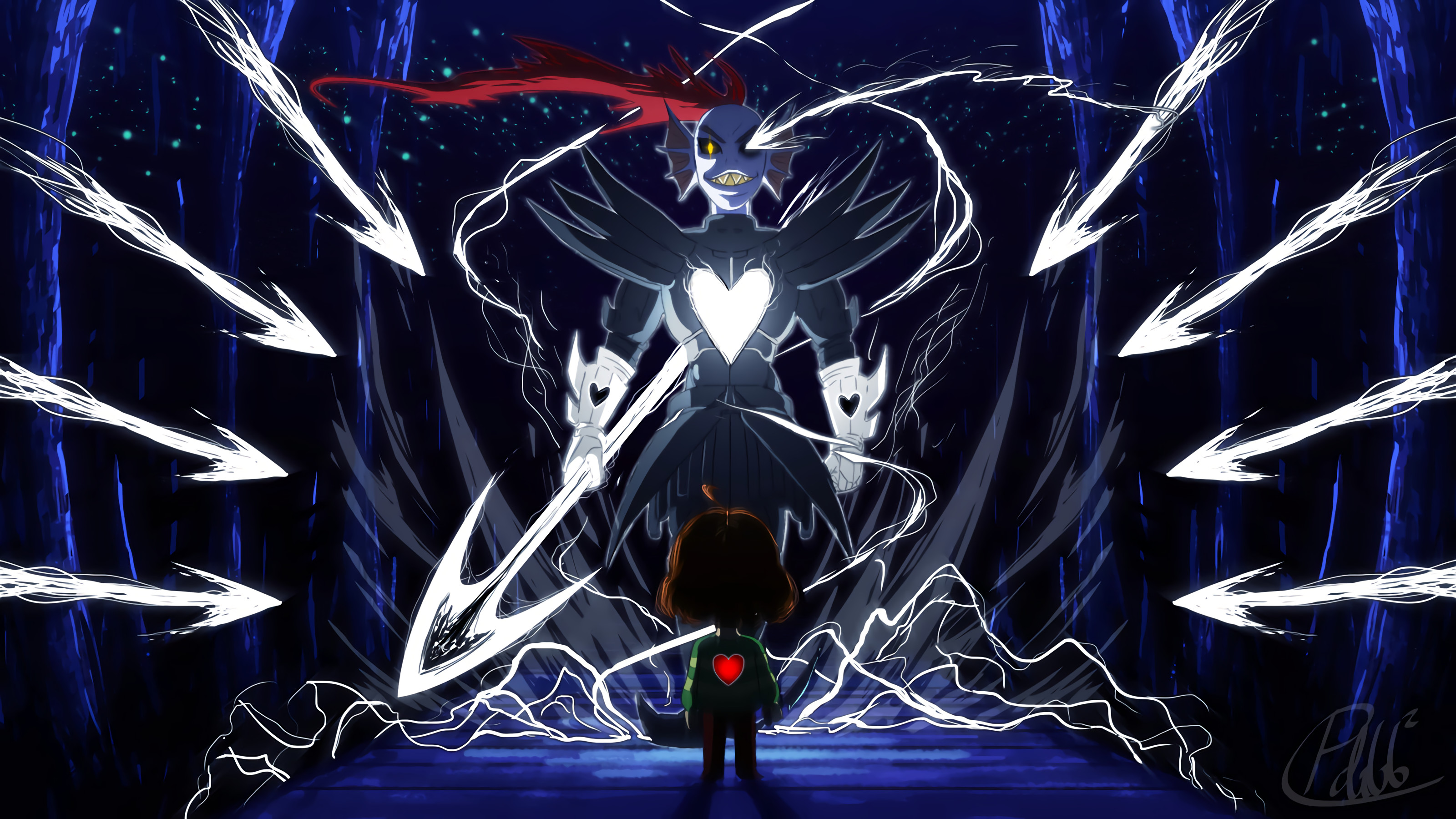 Undertale Undyne Undyne the Undying · HD Wallpaper | Background ID:731368