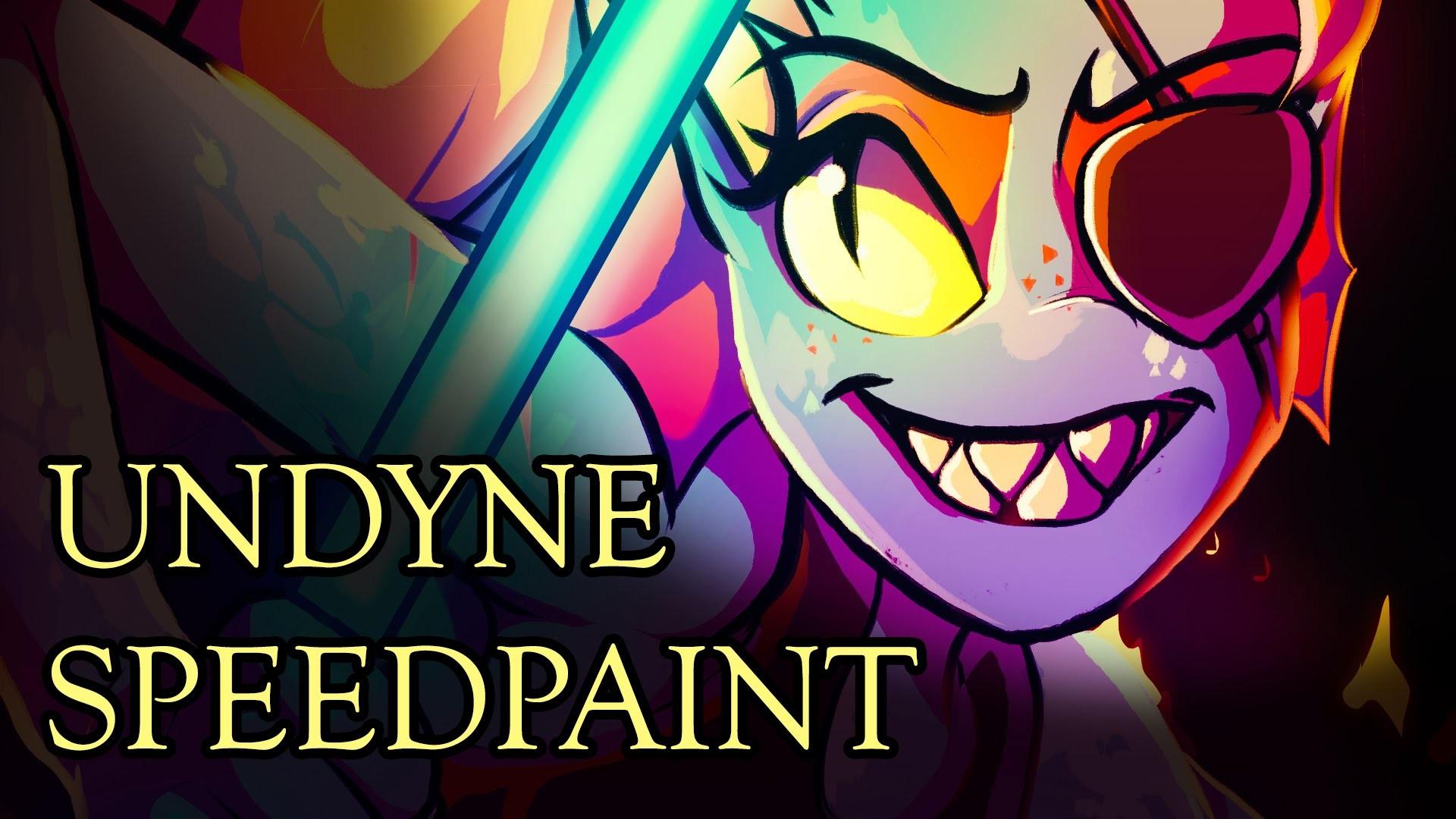 Undyne||Undertale Speedpaint