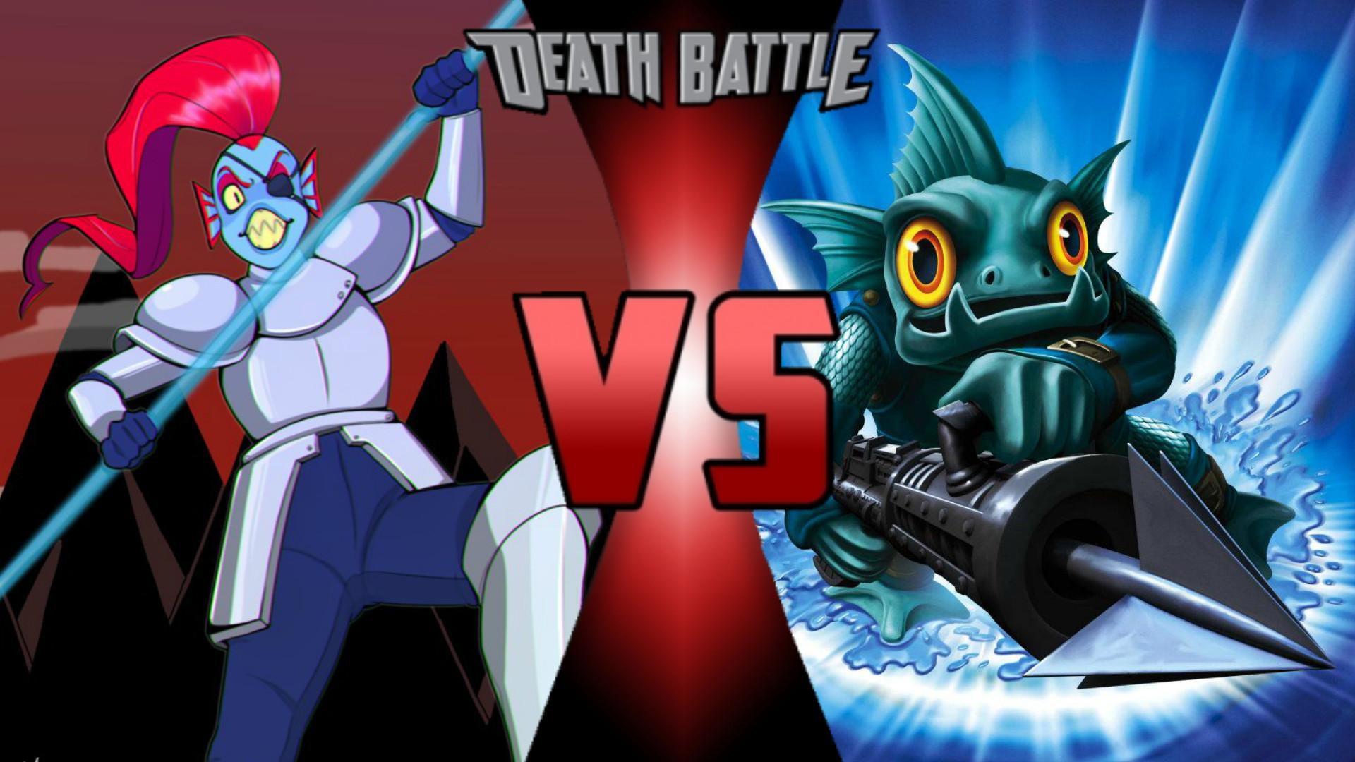Undyne vs. Gill Grunt | Death Battle Fanon Wiki | FANDOM powered by Wikia