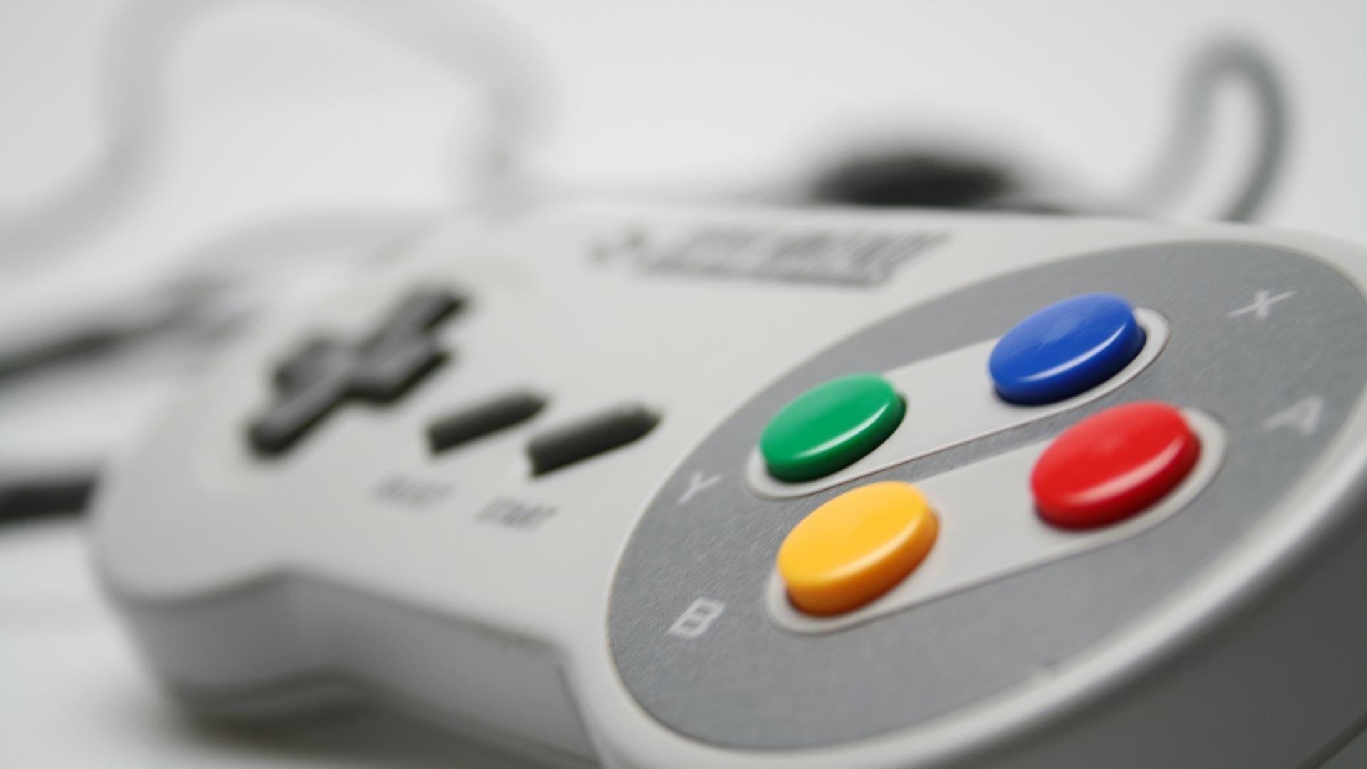 Super Nintendo Controller HD Wallpaper