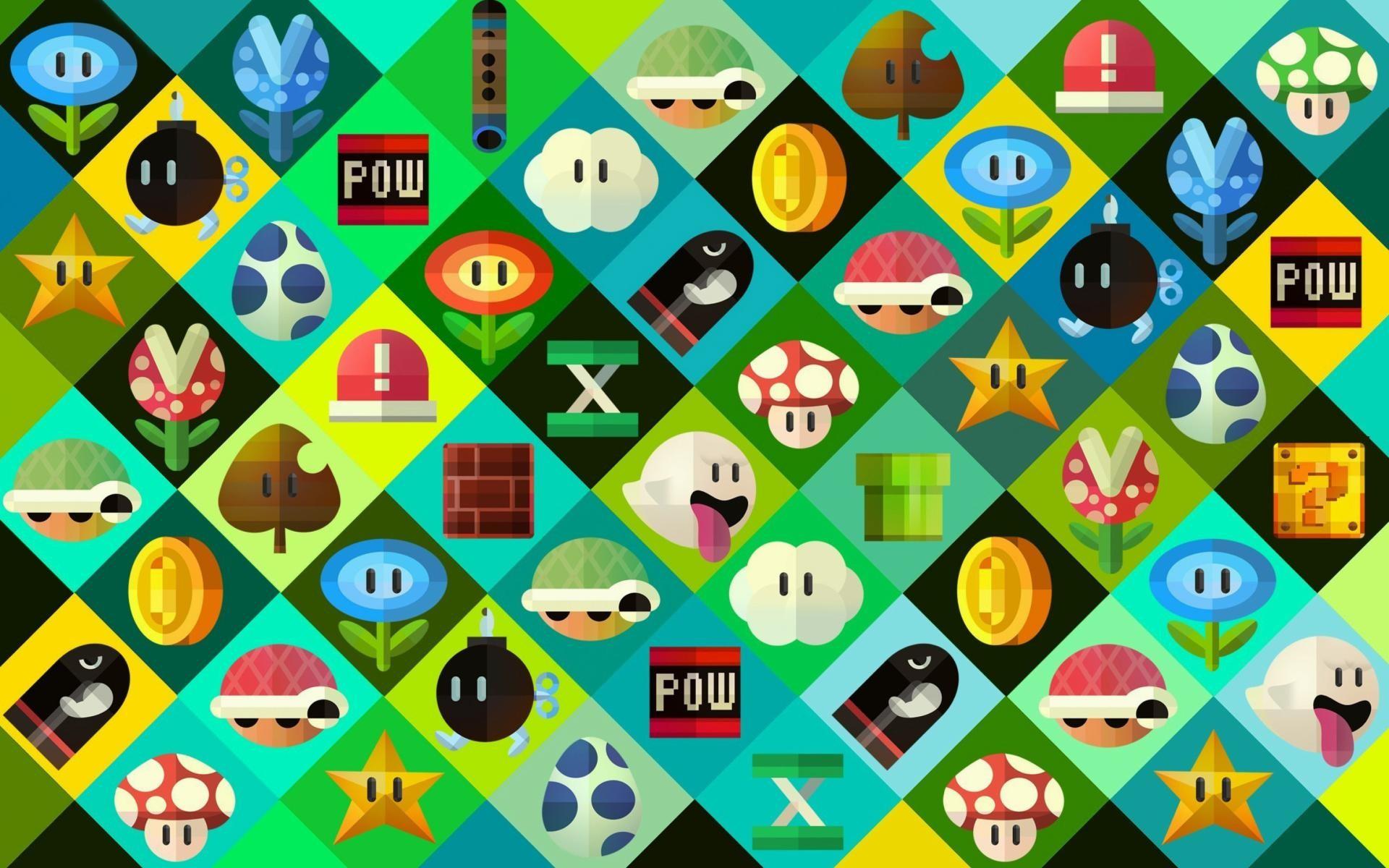 wallpaper.wiki-Super-Mario-power-ups-Abilities-in-