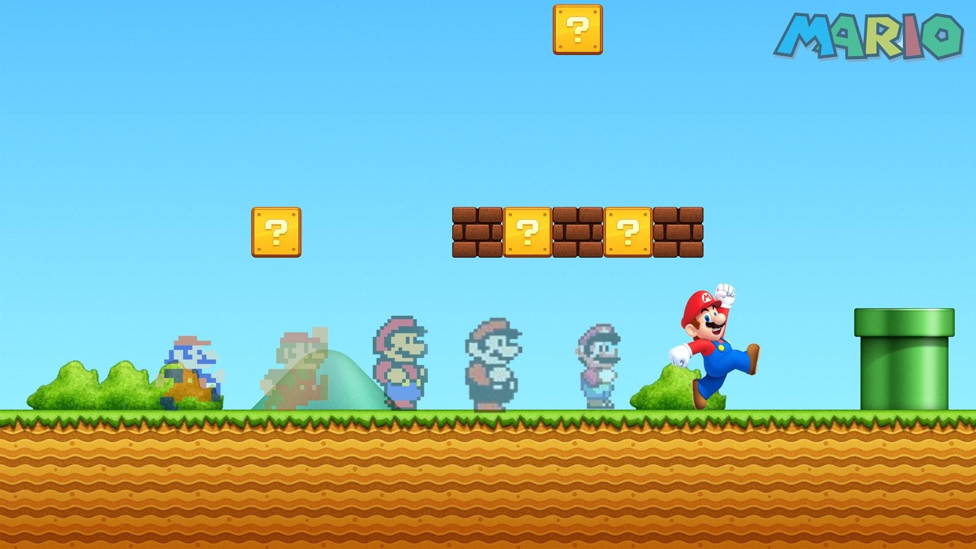 WallpapersWide.com   Mario HD Desktop Wallpapers for Widescreen .