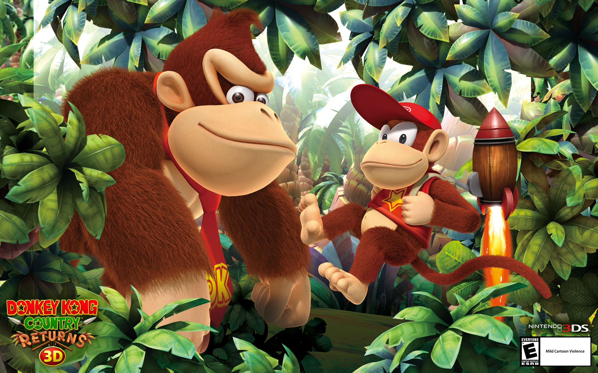 Wallpapers Donkey Kong Country Returns D for Nintendo DS
