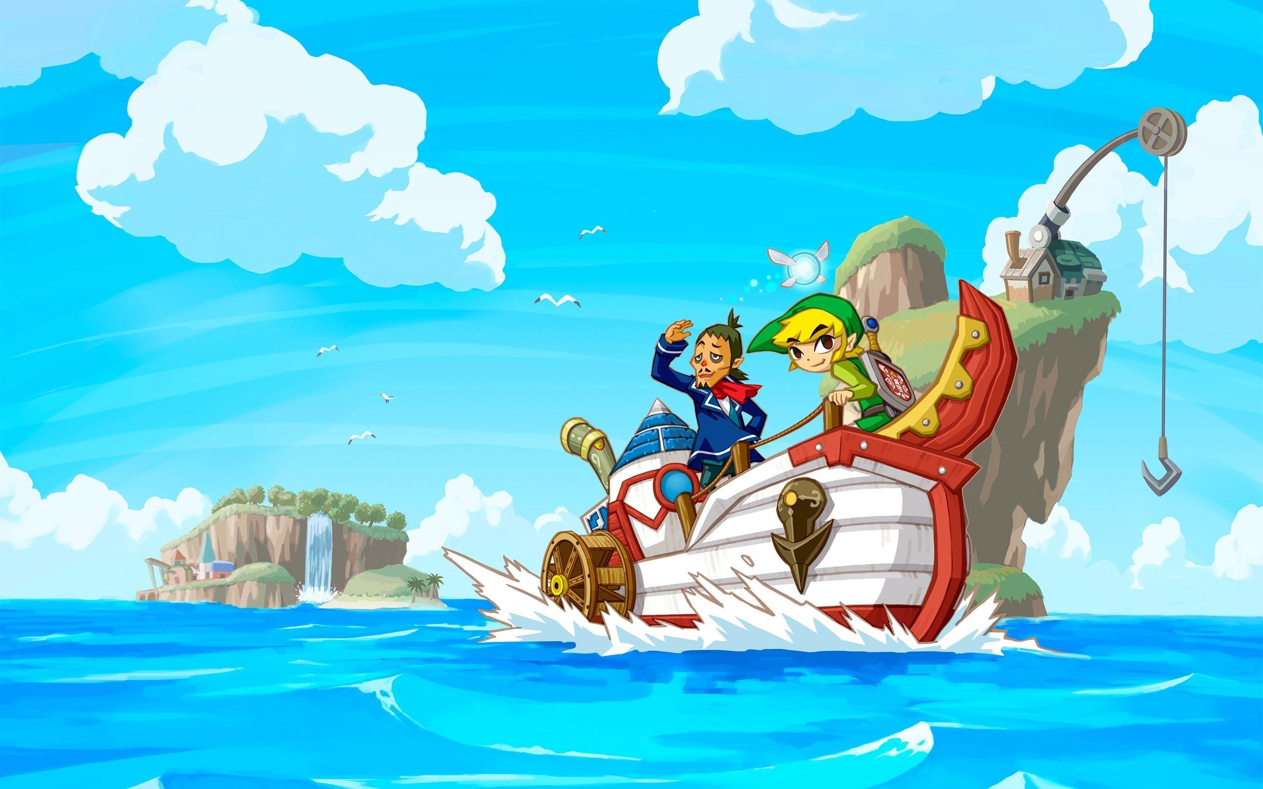 The Legend Of Zelda, Link, Video Games, Nintendo DS, The Legend Of Zelda:  Phantom Hourglass Wallpapers HD / Desktop and Mobile Backgrounds