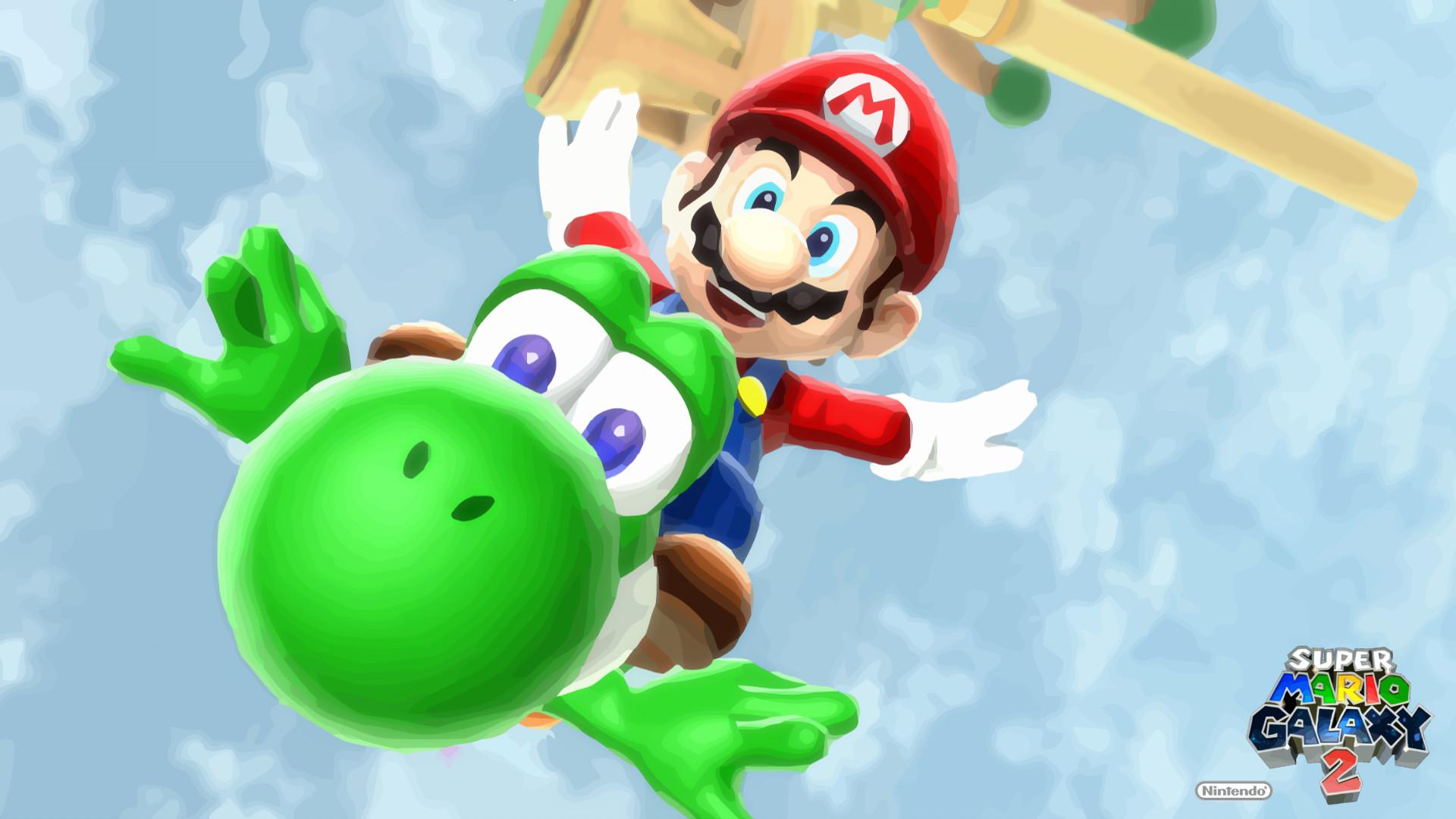 Super Mario Galaxy 2 Wallpapers HD – Wallpaper Cave
