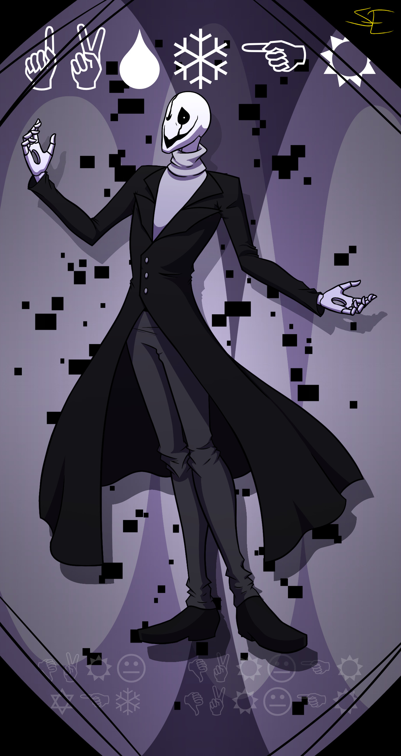 … W.D. Gaster by Sydney-Empire
