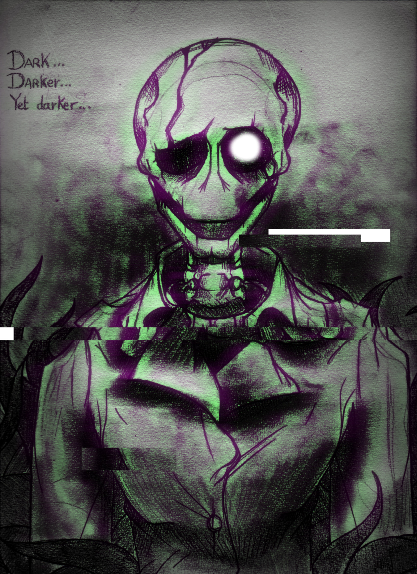 [ Gaster – Undertale ] by GraphShadow