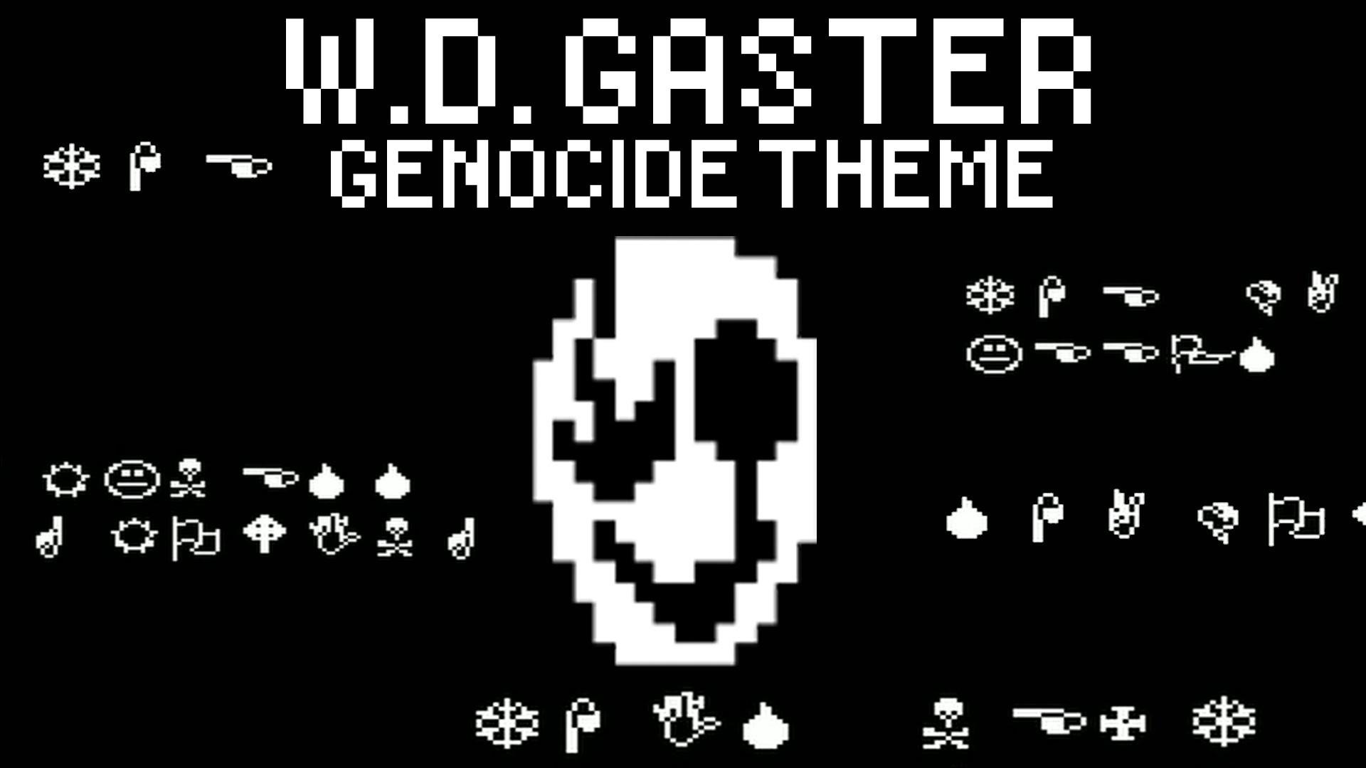 【Hellkite】Undertale – W.D. GASTER (Genocide Theme) – YouTube