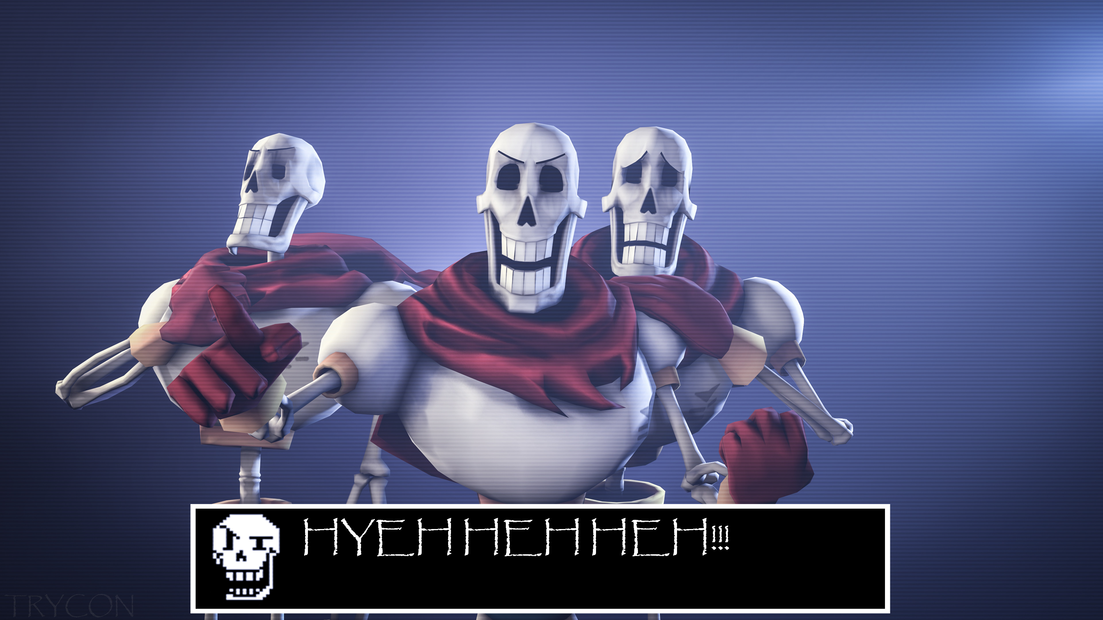 [Undertale] Papyrus by Trycon1980 on DeviantArt