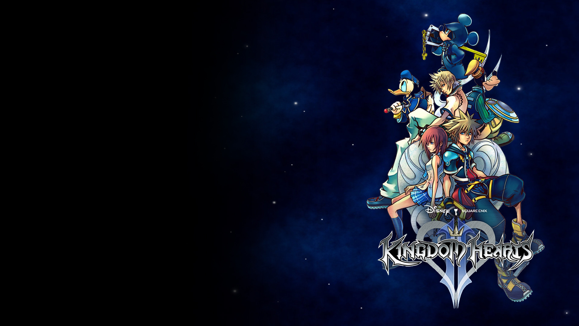 Here is a collection of Kingdom Hearts wallpapers that I compiled. Feel  free to use them as your own wallpapers.