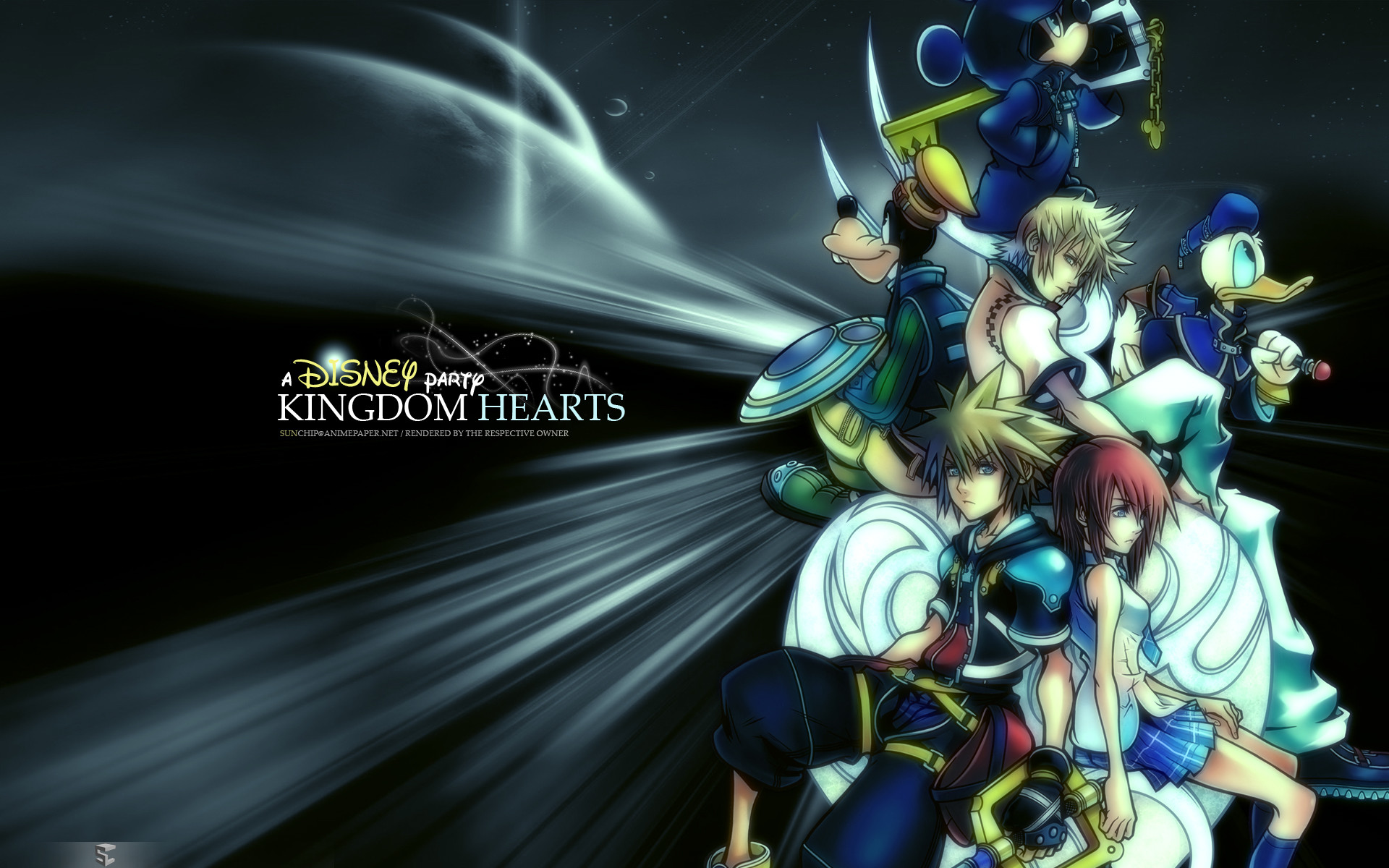 Kingdom Hearts : Free PC Game Desktop Background 04   Imagez Only