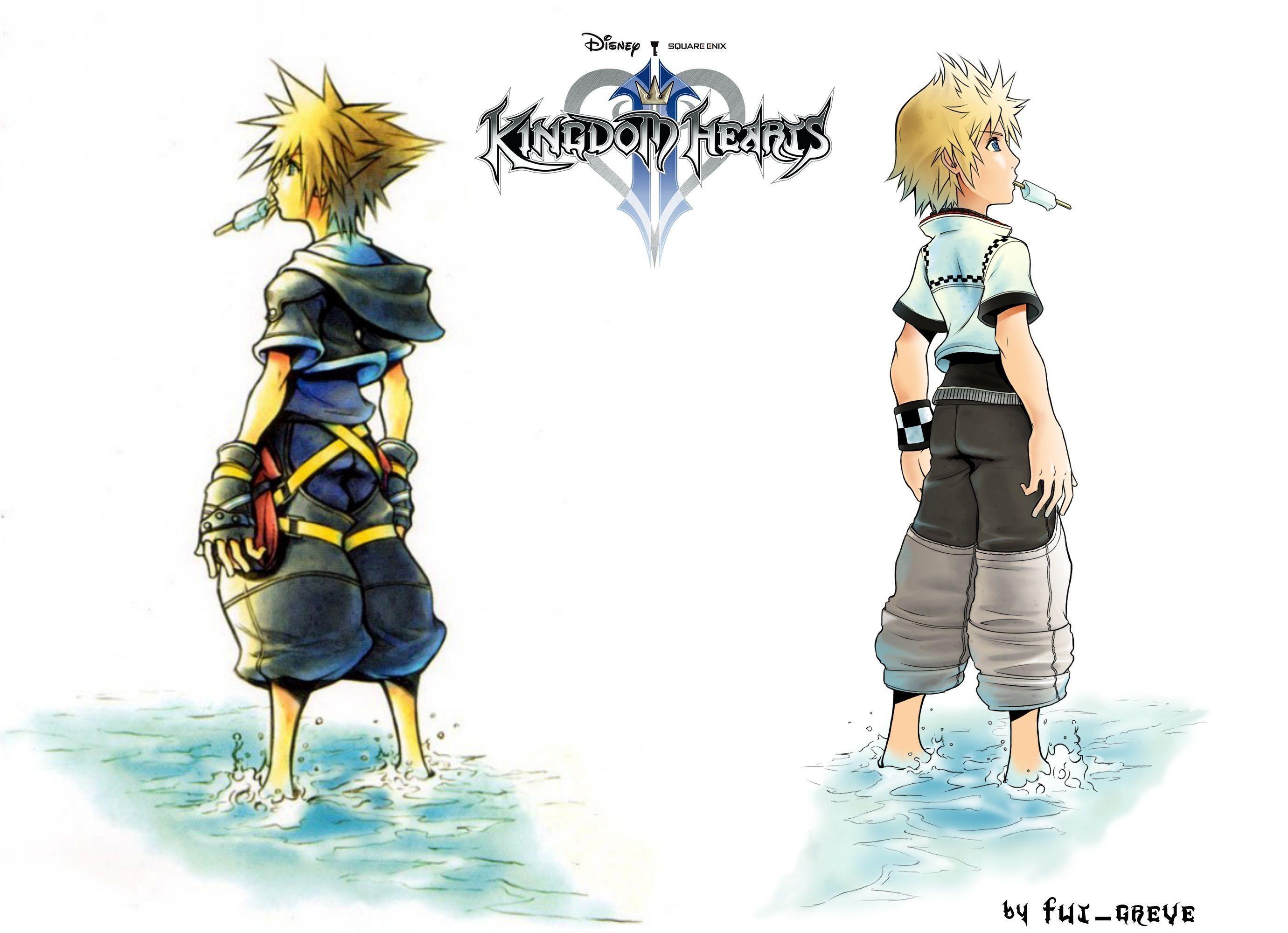 Kingdom Hearts Roxas Wallpapers Widescreen