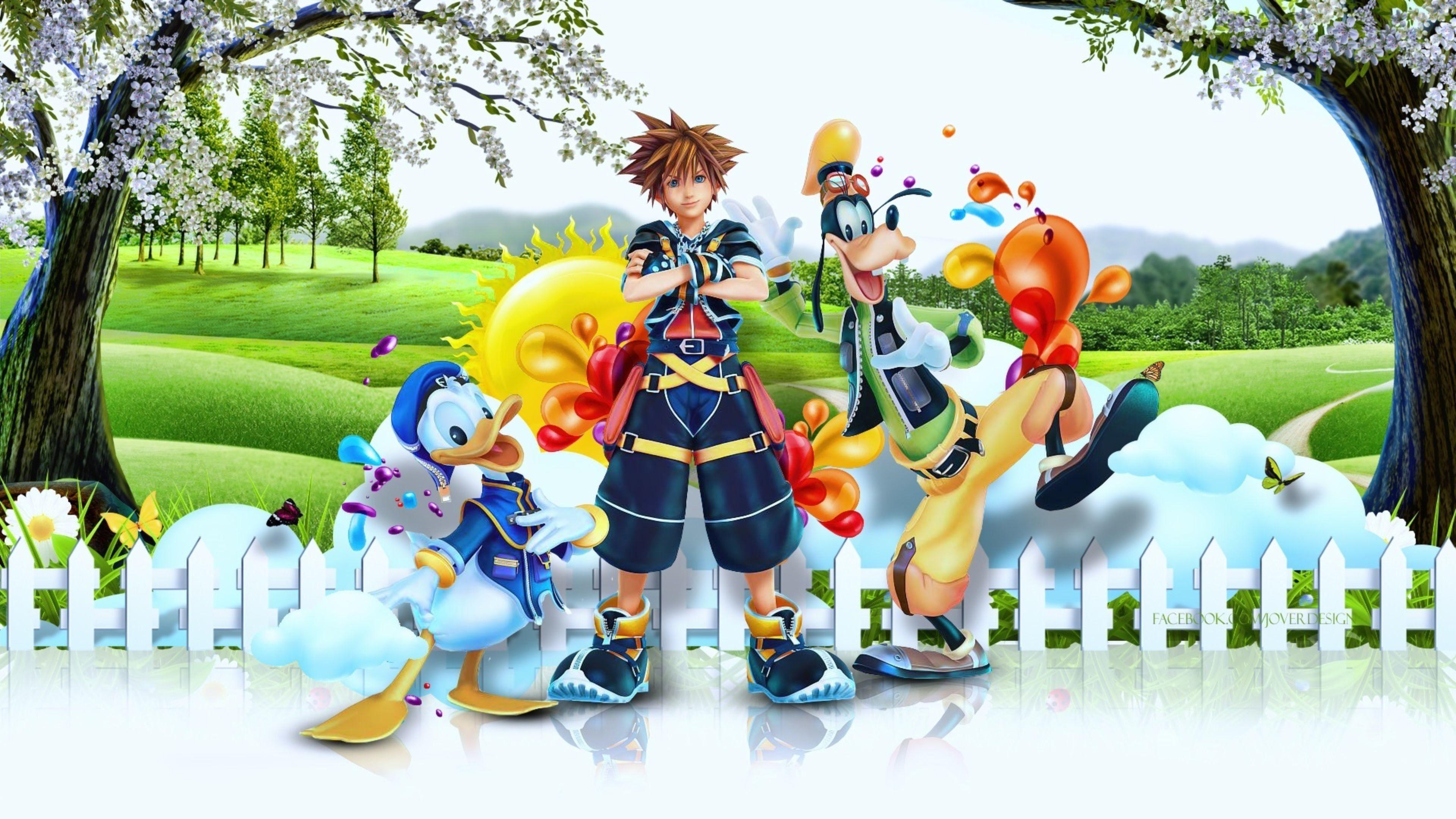 Amazing 2016 Kingdom Hearts 3 4K Wallpaper   Free 4K Wallpaper