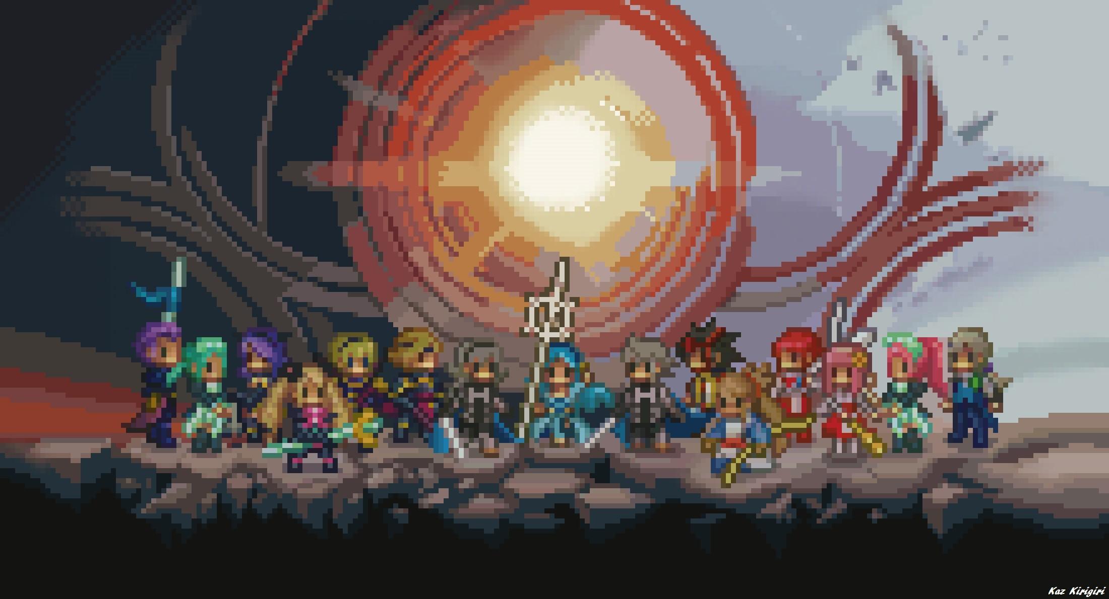 … Fire Emblem Fates Pixel Art Wallpaper by Kaz-Kirigiri