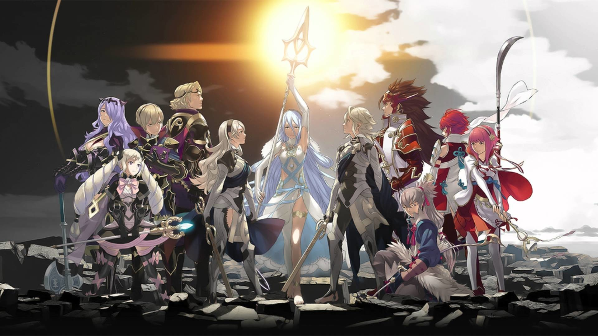 Fire Emblem: Fates – End of All (Sky, Land, and Below rotation) – YouTube