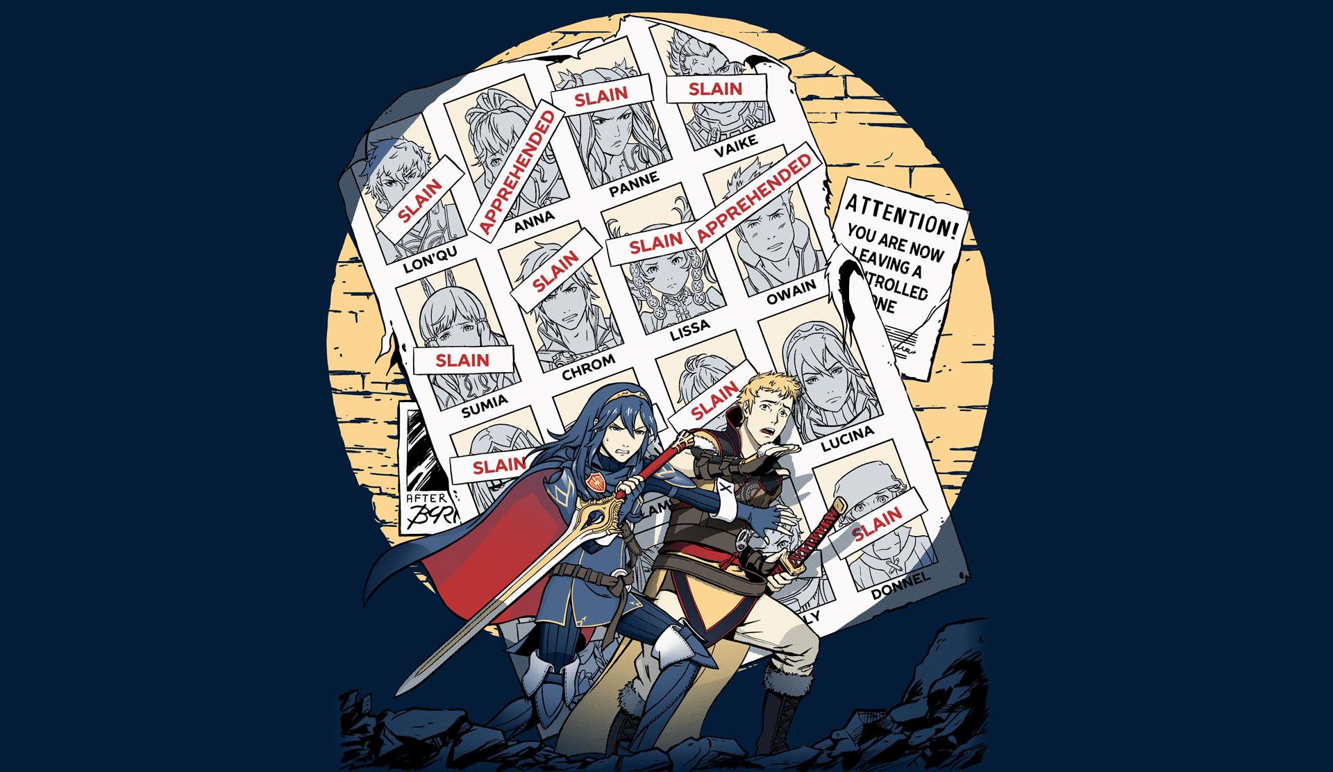 Fire Emblem Awakening & X-Men Crossover Wallpaper …