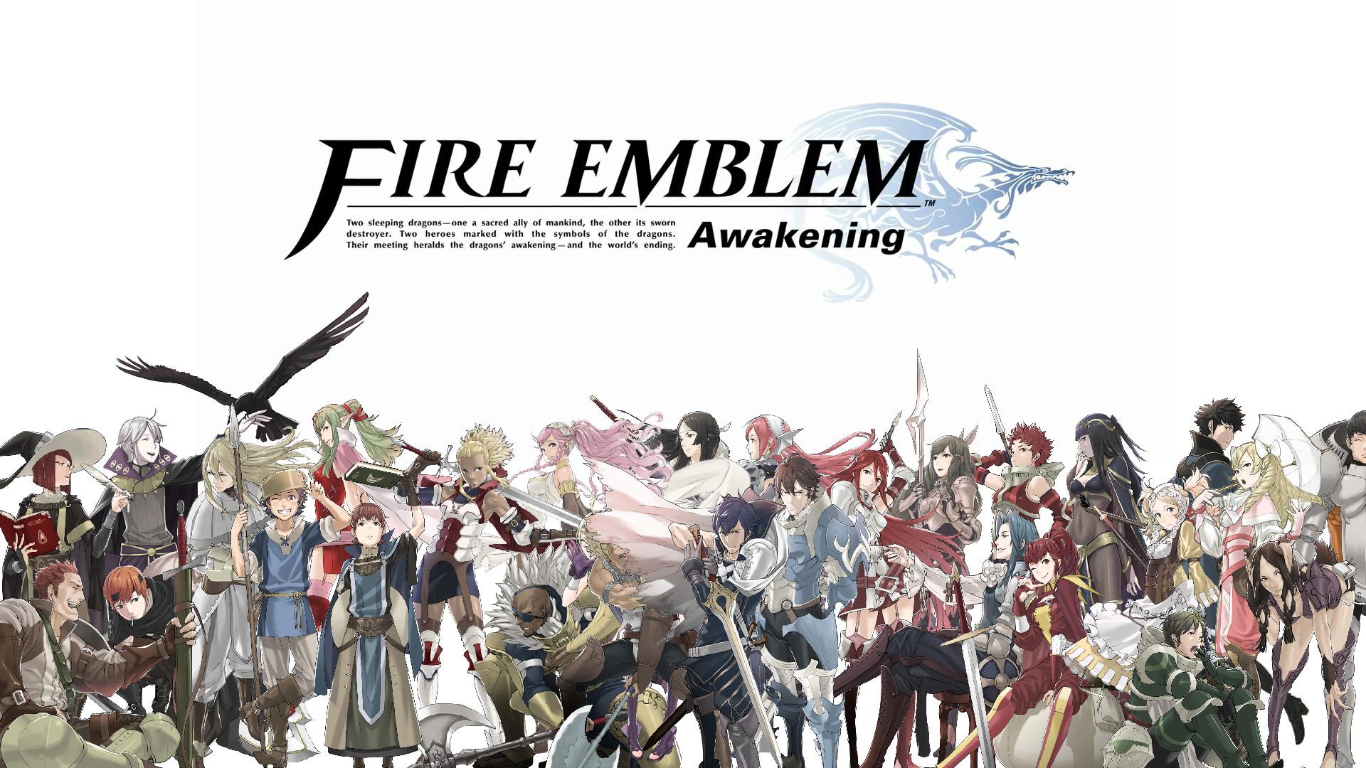 AwakeningFire Emblem Awakening Wallpaper (1920×1080) [OC] …