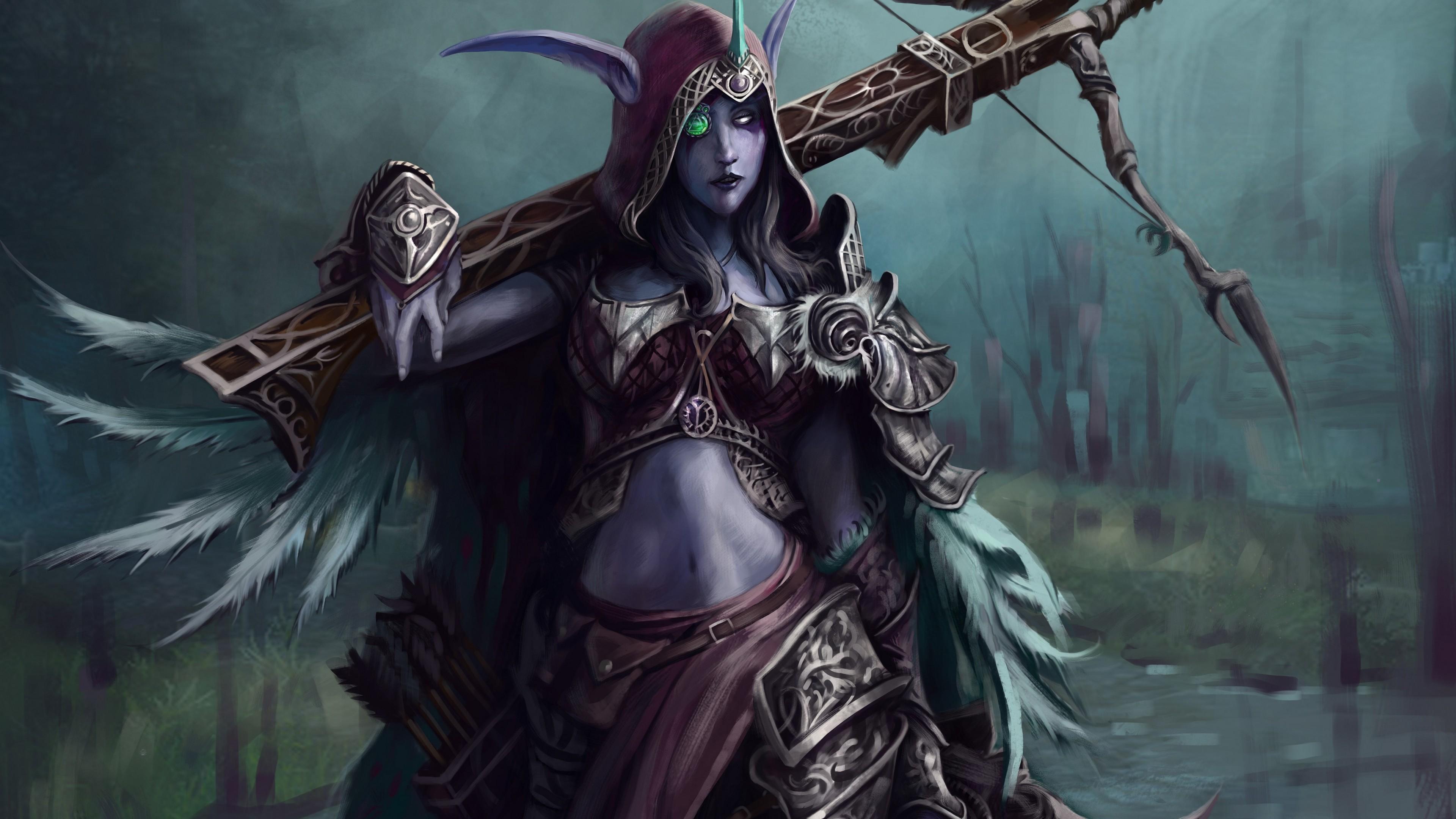 World Of Warcraft Sylvanas Windrunner Wallpaper