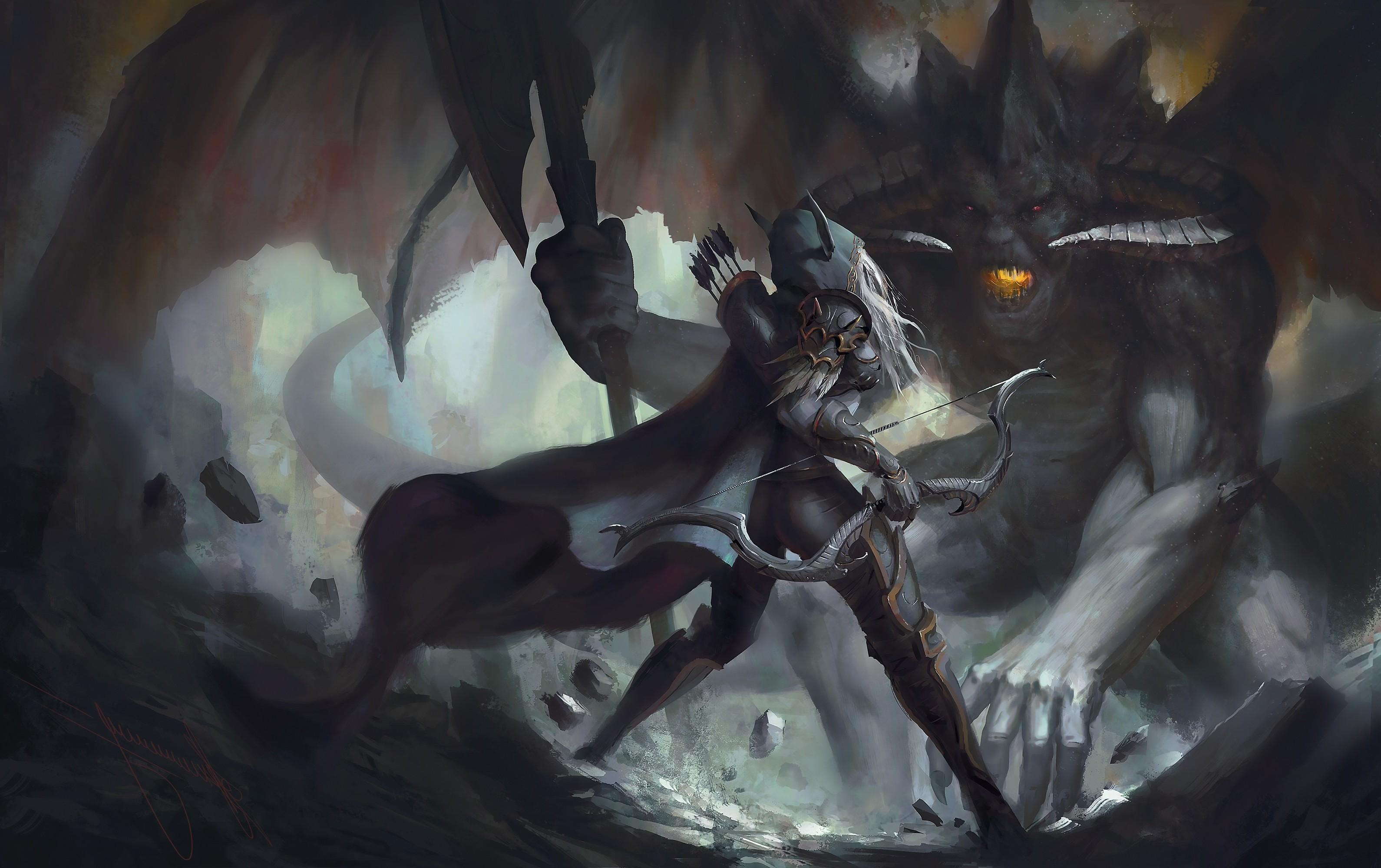 fantasy Art, Sylvanas Windrunner Wallpapers HD / Desktop and Mobile  Backgrounds