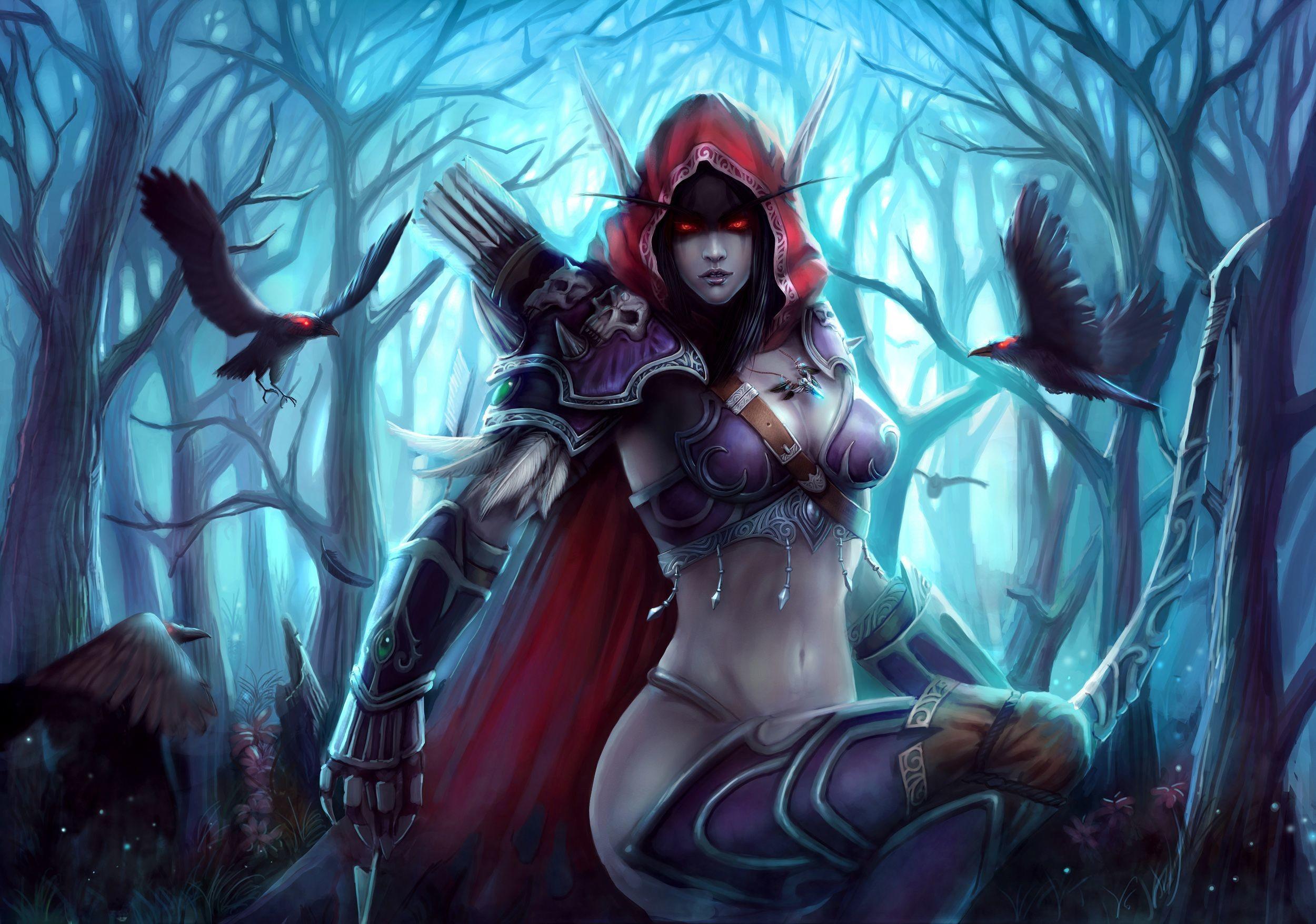Video Game – World Of Warcraft Bakgrund. Ladda ner! Next Wallpaper ·  FöregÃ¥ende bakgrundsbild. Sylvanas Windrunner