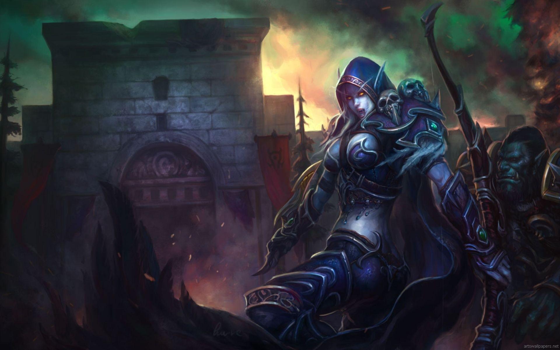 Video Game – World Of Warcraft Thrall (World Of Warcraft) Sylvanas  Windrunner Wallpaper