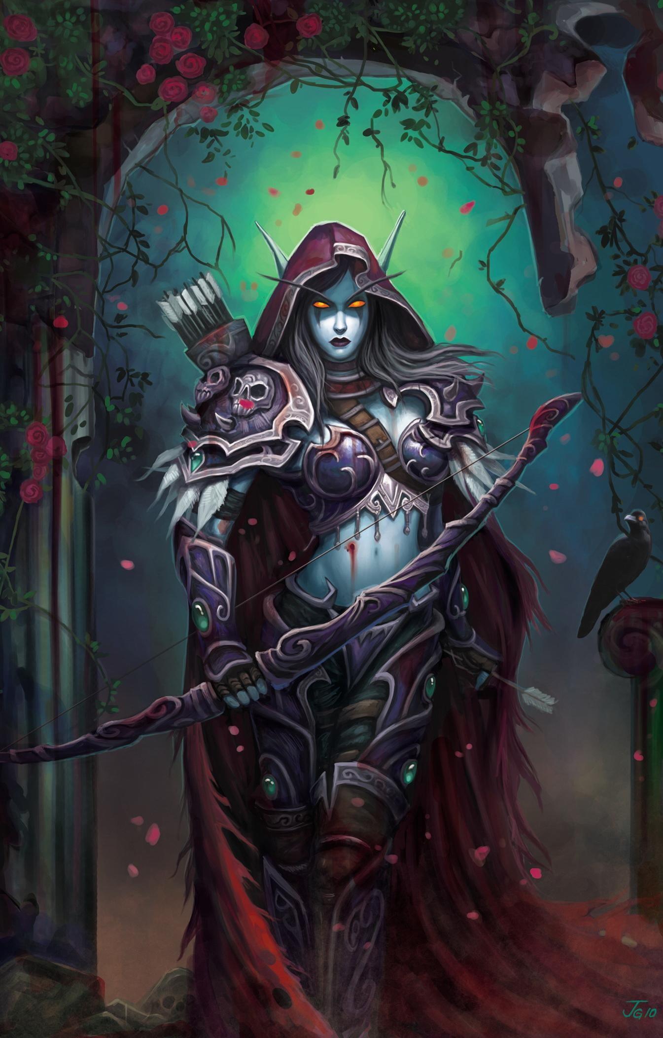Sylvanas Windrunner (the Dark Lady, Queen of the Forsaken) is the former  Ranger-General of.