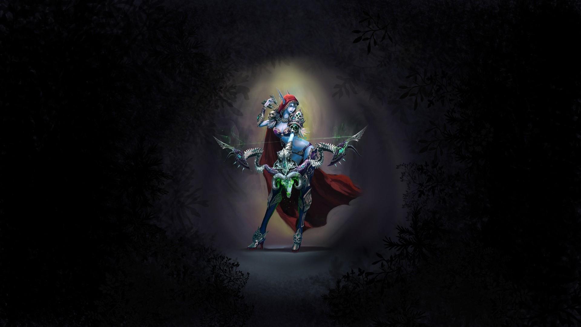 Sylvanas Windrunner, World of Warcraft Wallpapers HD / Desktop and Mobile  Backgrounds