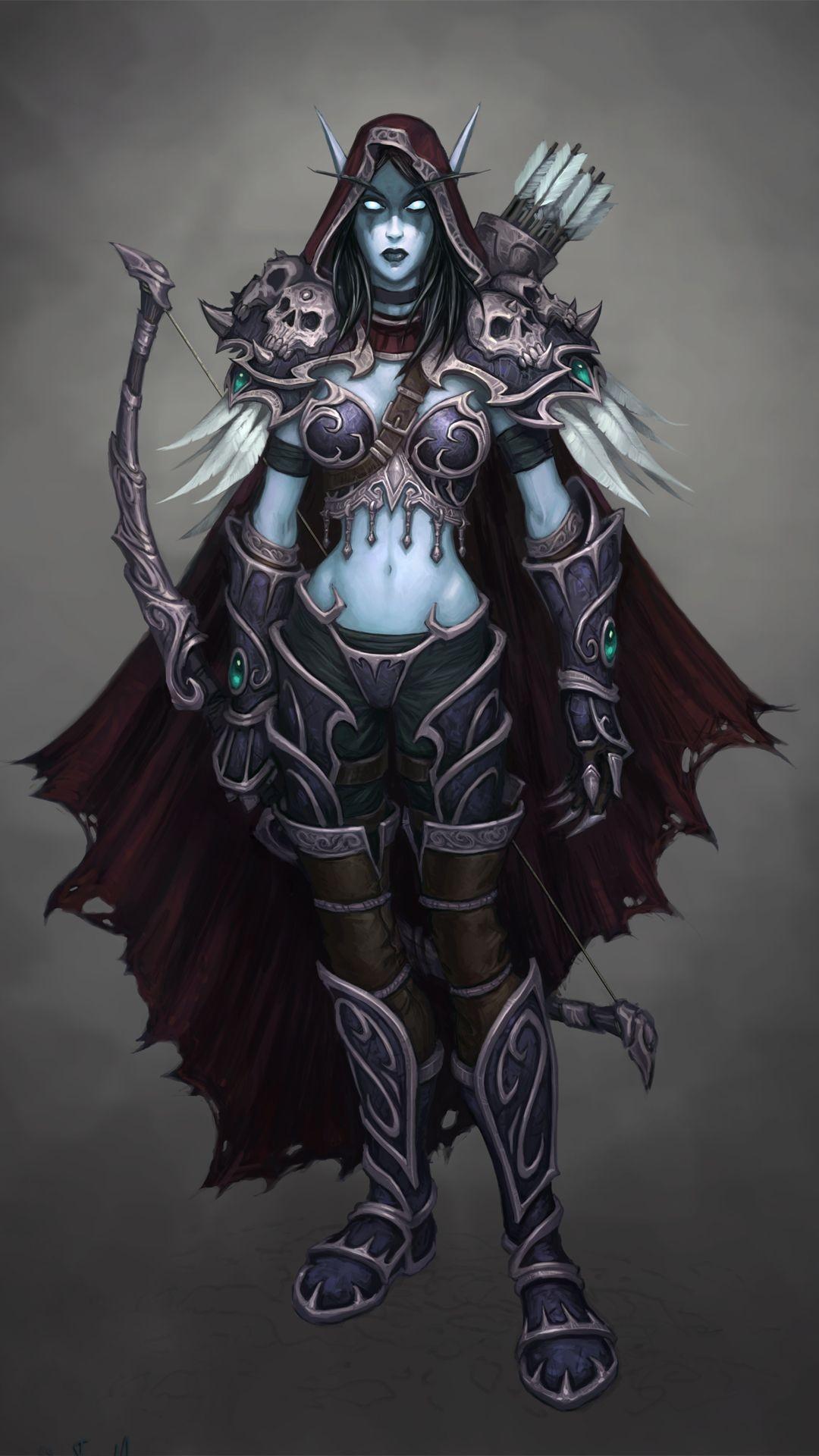 … Sylvanas Windrunner – World of Warcraft Game mobile wallpaper
