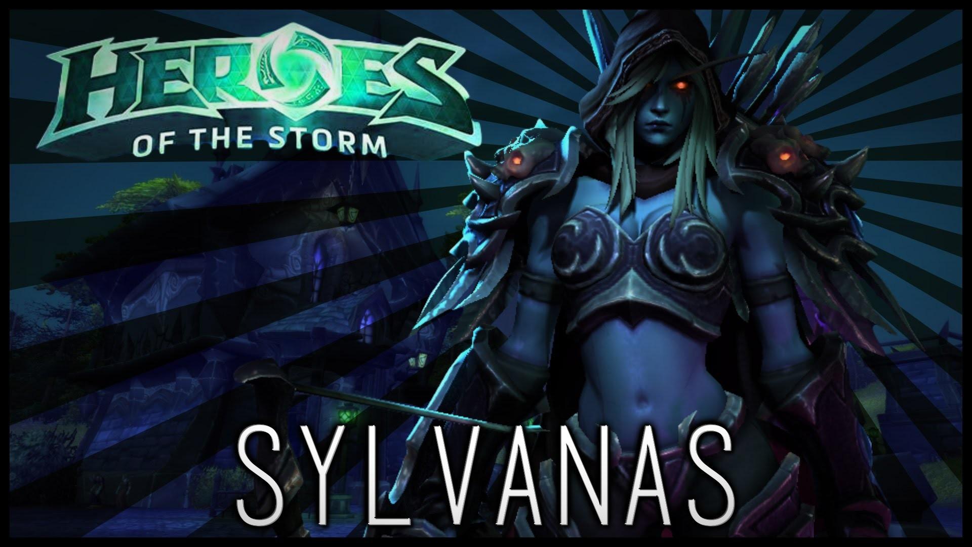 WAILING DAMAGE   Sylvanas Windrunner BETA Gameplay – Heroes of the Storm –  YouTube