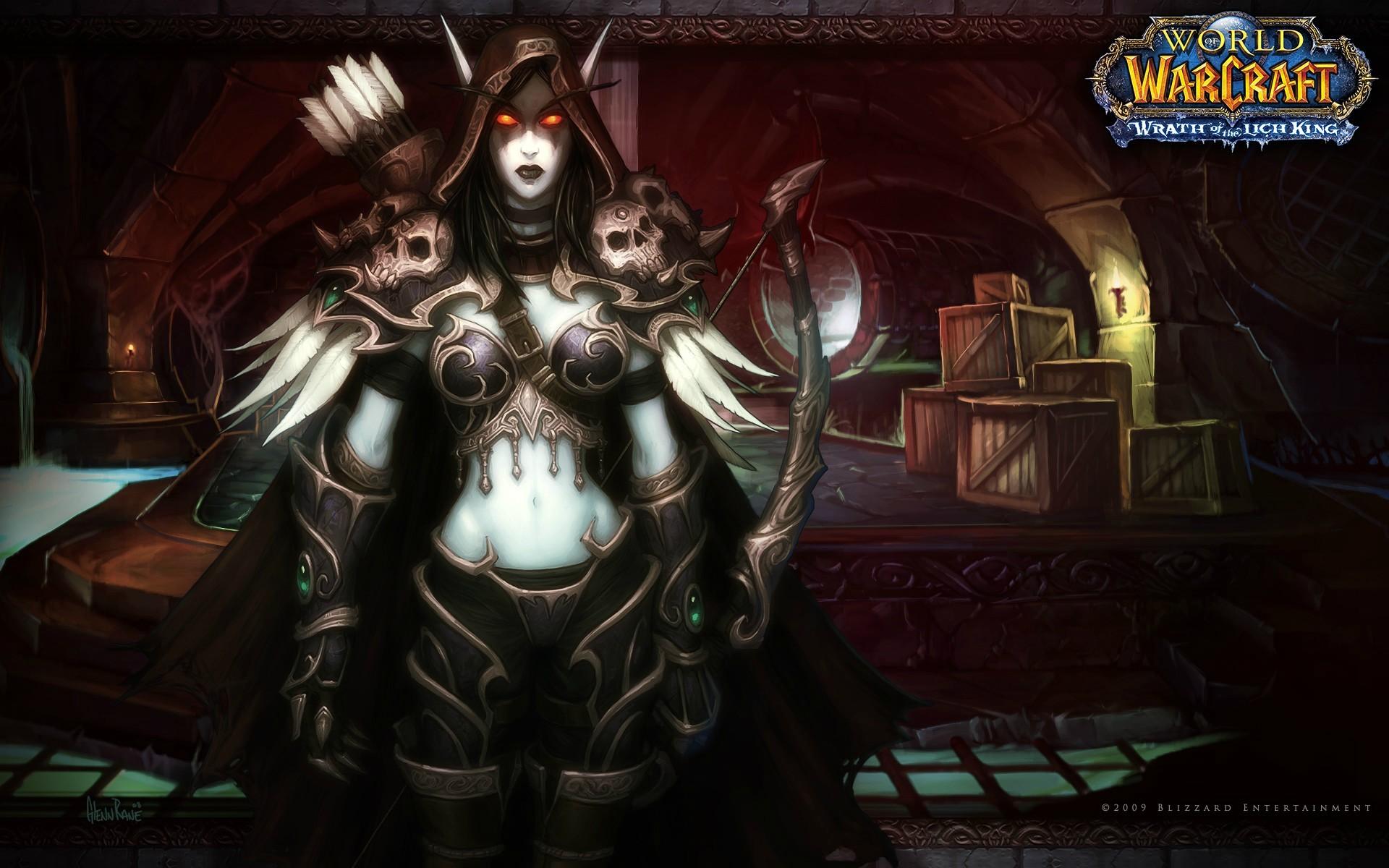 My favorite Warcraft wallpaper: Lady Sylvanas …