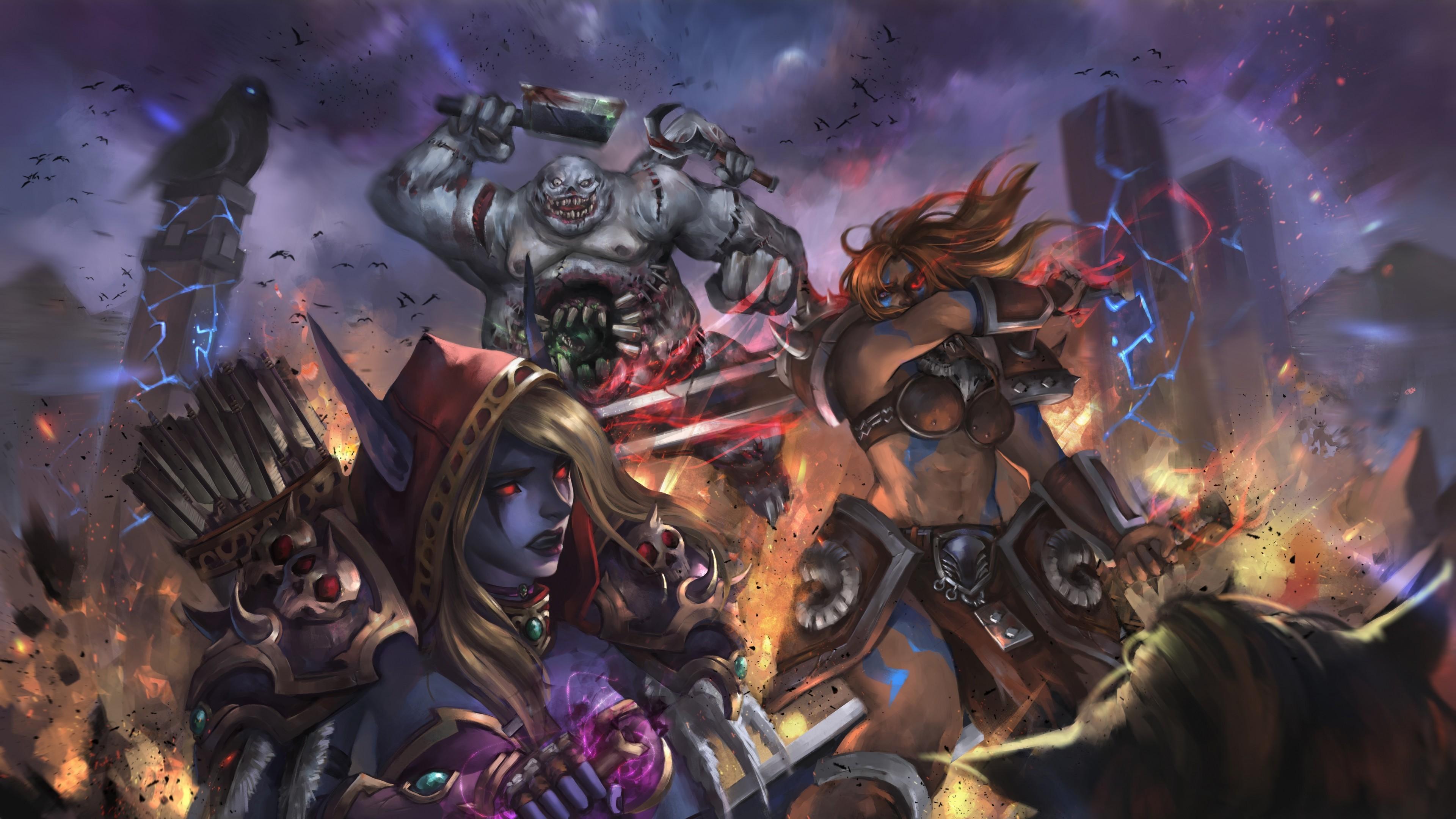 Heroes Of The Storm, Sylvanas Windrunner, Diablo Iii, Barbarian