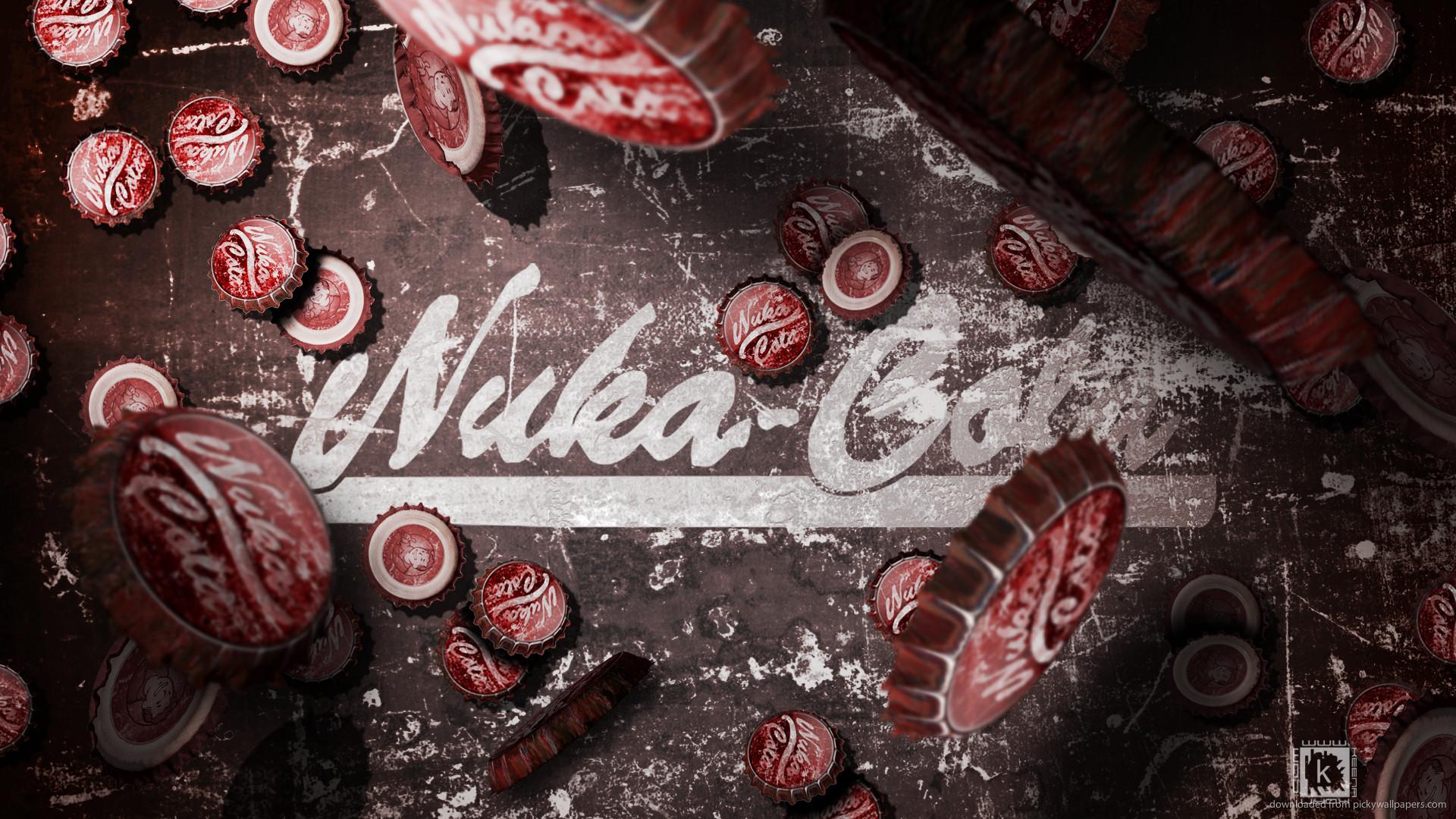 Nuka Cola caps picture