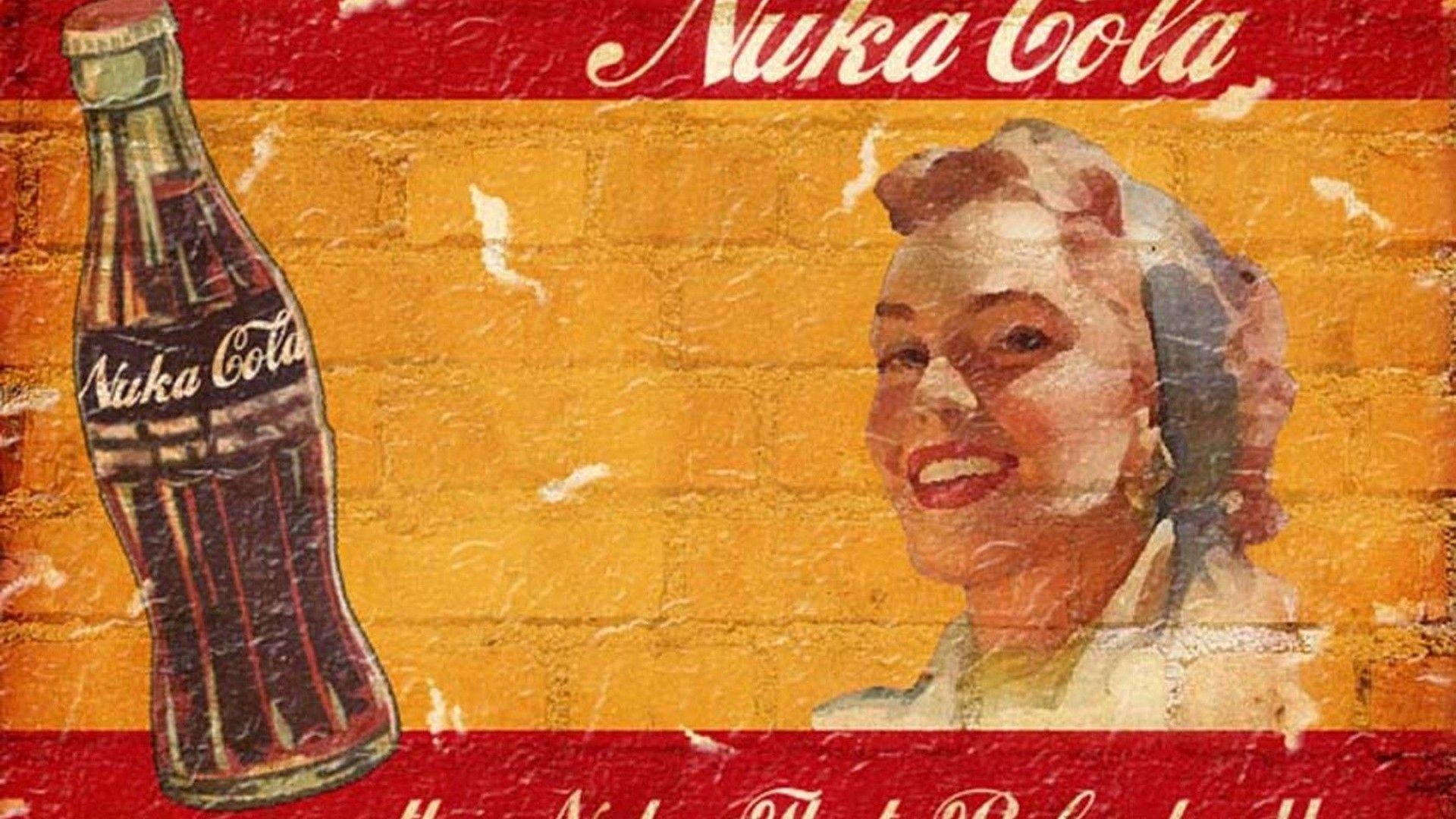 Fallout Vintage Nuka Cola Quantum Wallpaper – MixHD wallpapers