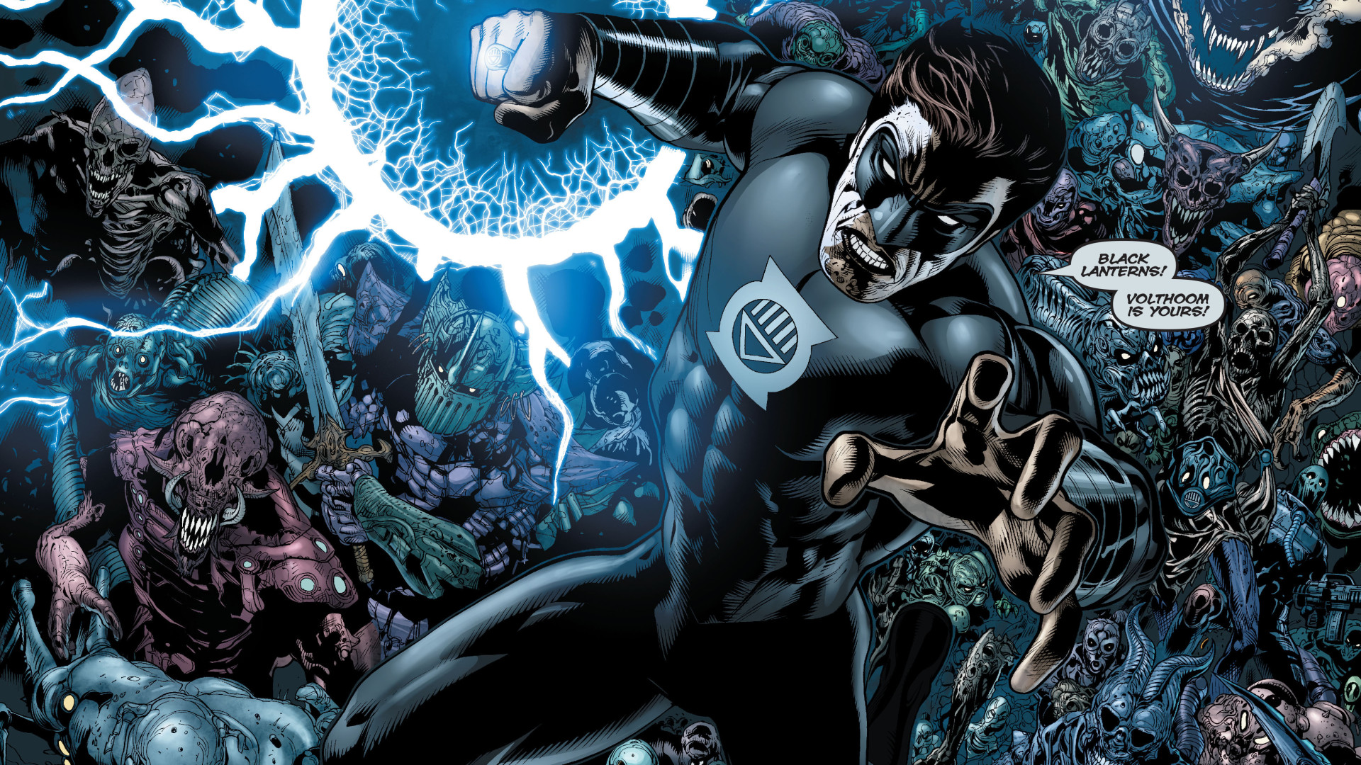 Top Black Lantern Photos And Pictures Black Lantern Hd Widescreen Wallpapers