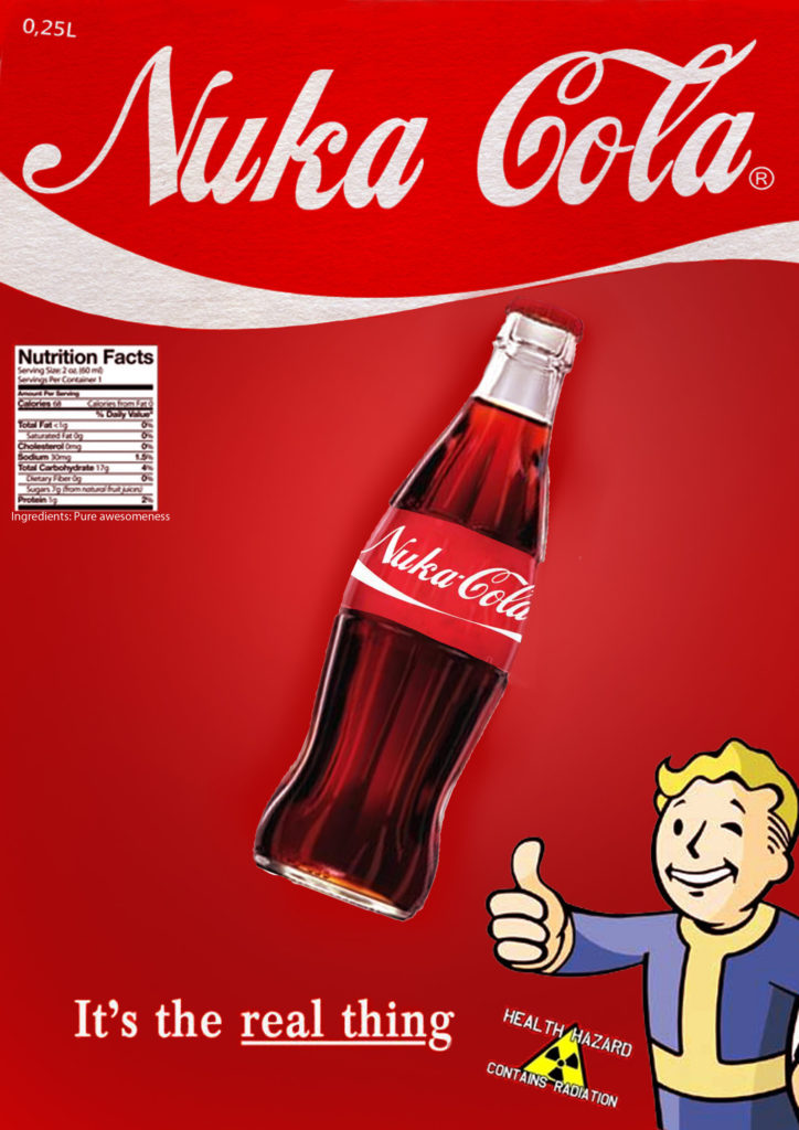 Nuka Cola Poster by PearField Nuka Cola Poster by PearField