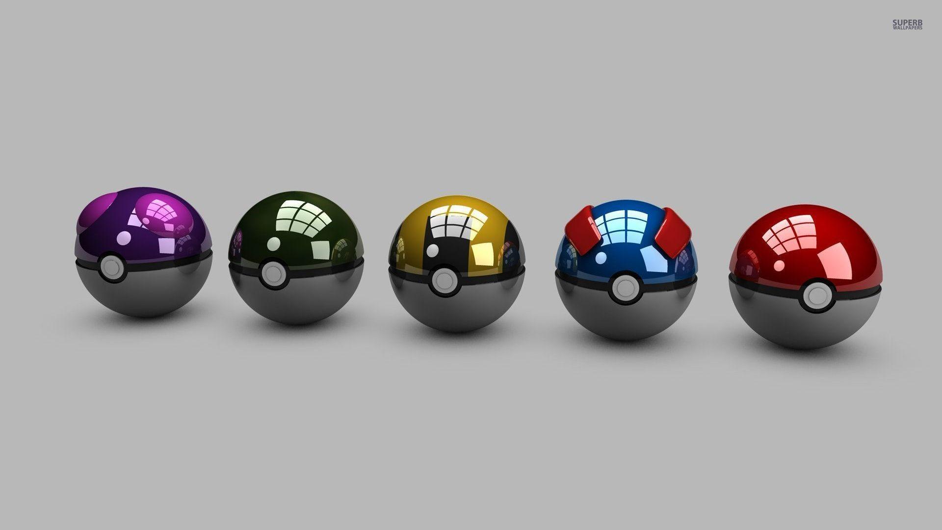 pokeballs 1920×1080
