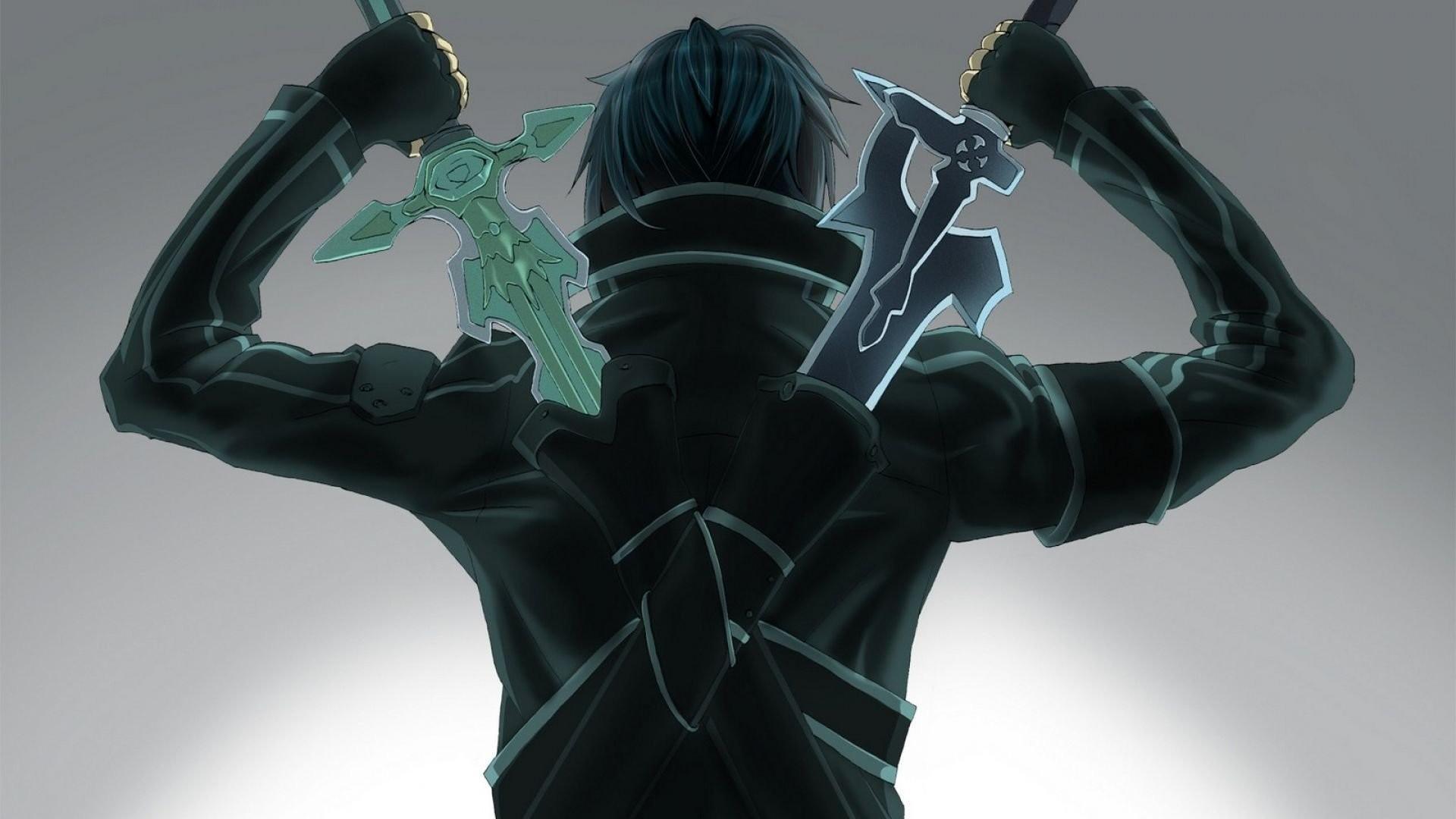 Anime – Sword Art Online Kirito (Sword Art Online) Wallpaper