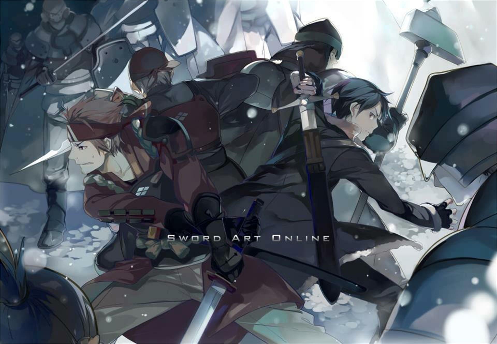 Anime – Sword Art Online Klein (Sword Art Online) Kirito (Sword Art Online
