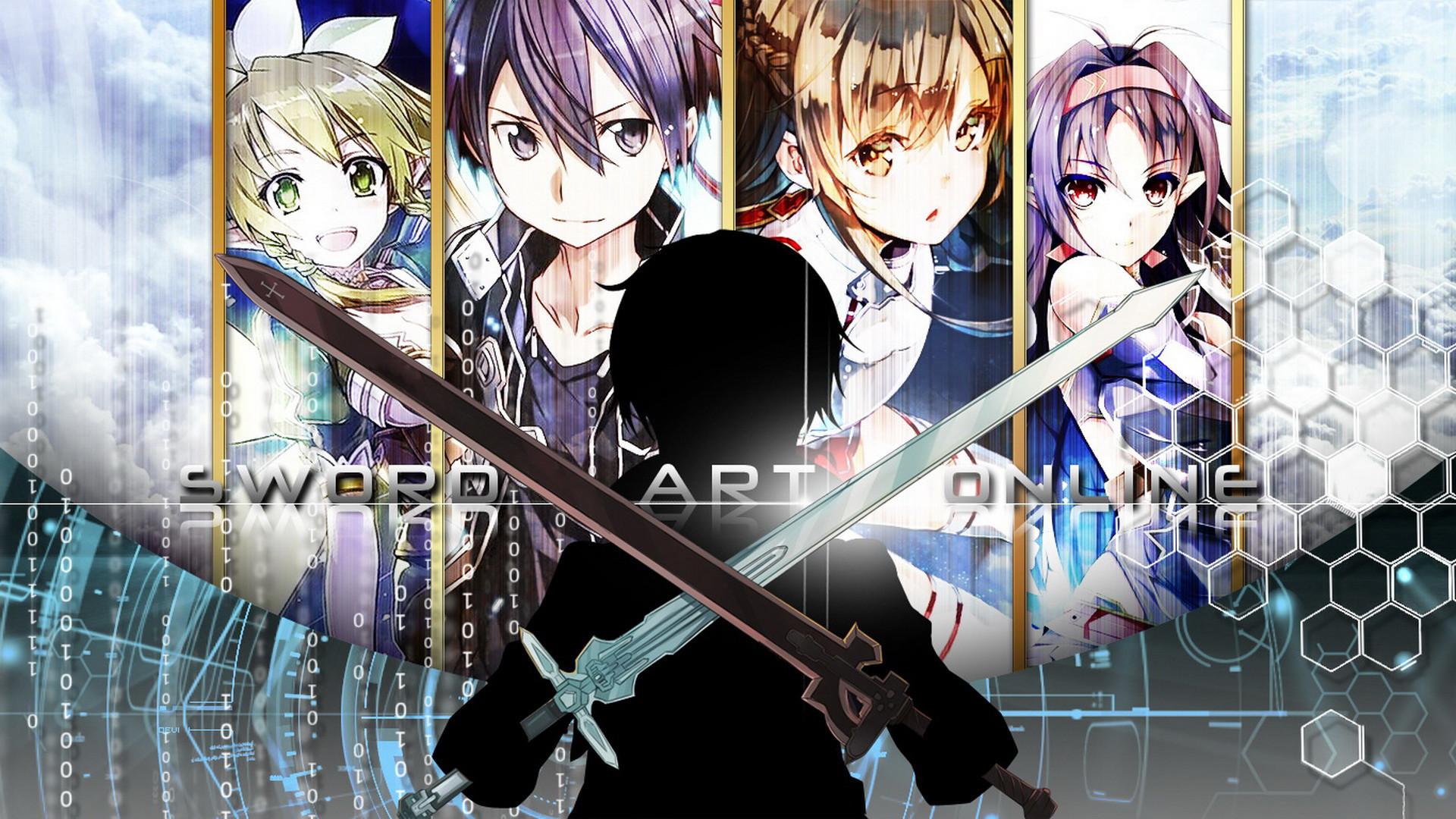 Anime – Sword Art Online II Yuuki Konno Asuna Yuuki Suguha Kirigaya Kirito (Sword  Art
