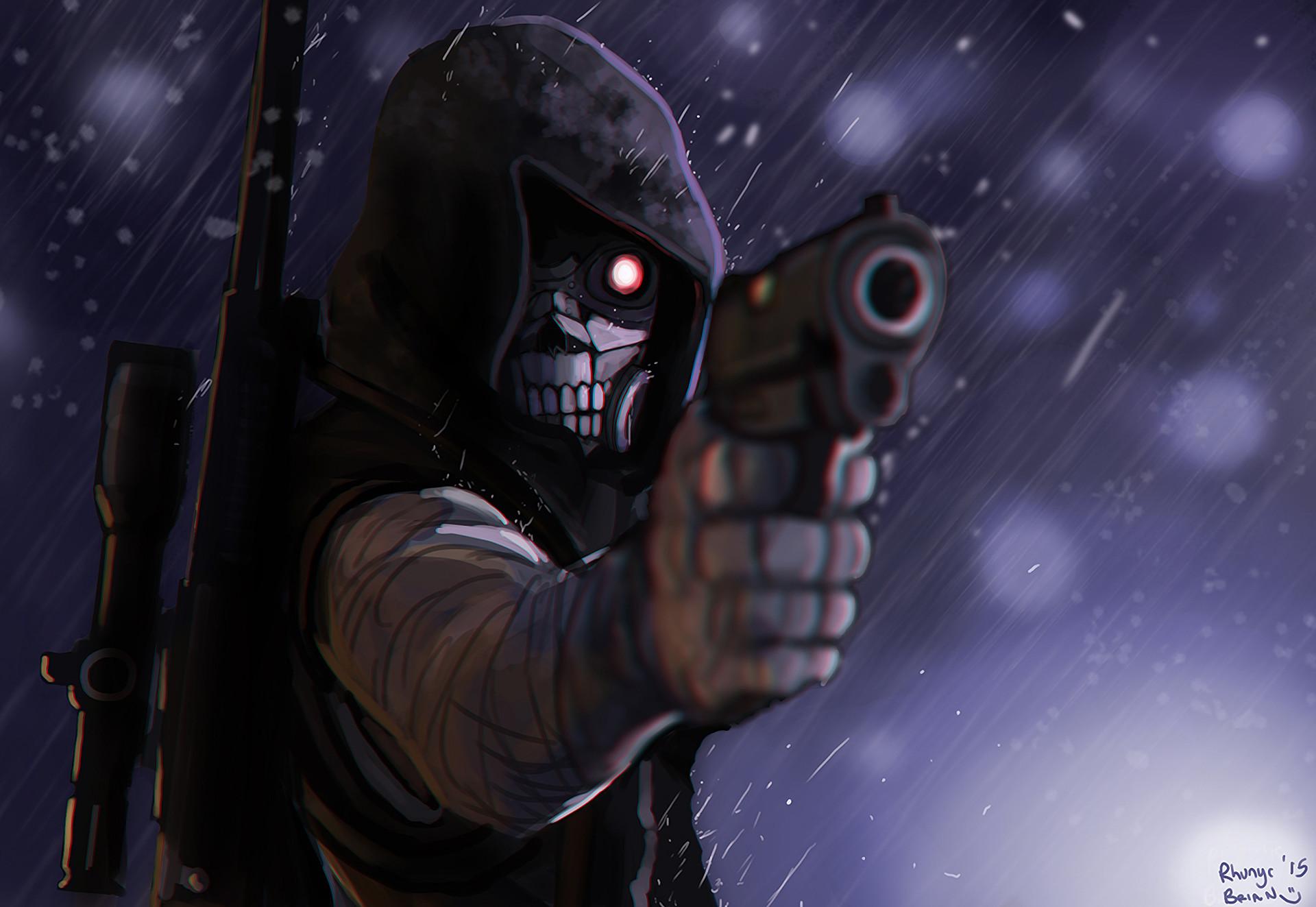 Anime – Sword Art Online II Death Gun (Sword Art Online) Wallpaper