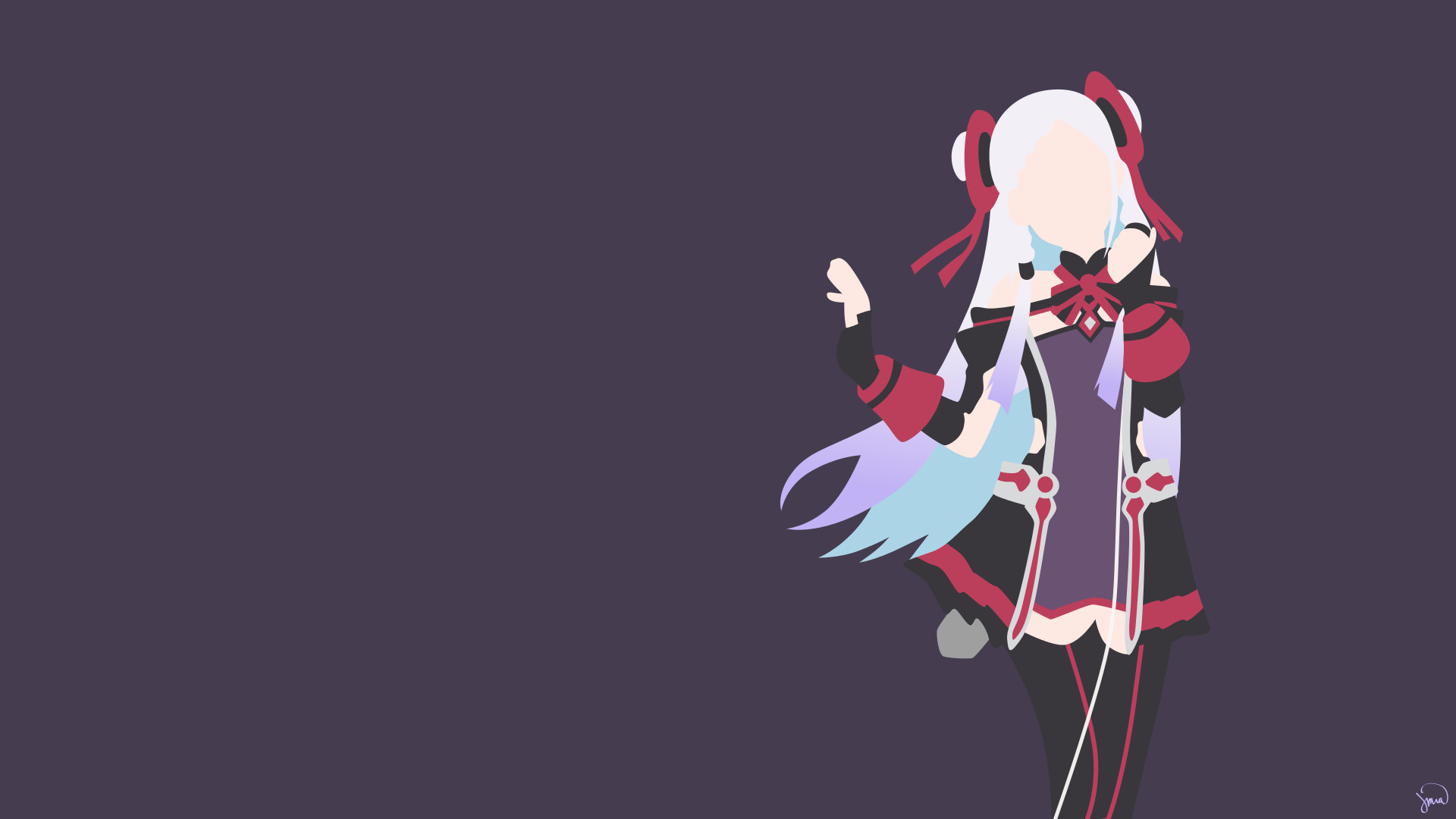… Sword Art Online Ordinal Scale Yuna · HD Wallpaper | Background  ID:783766